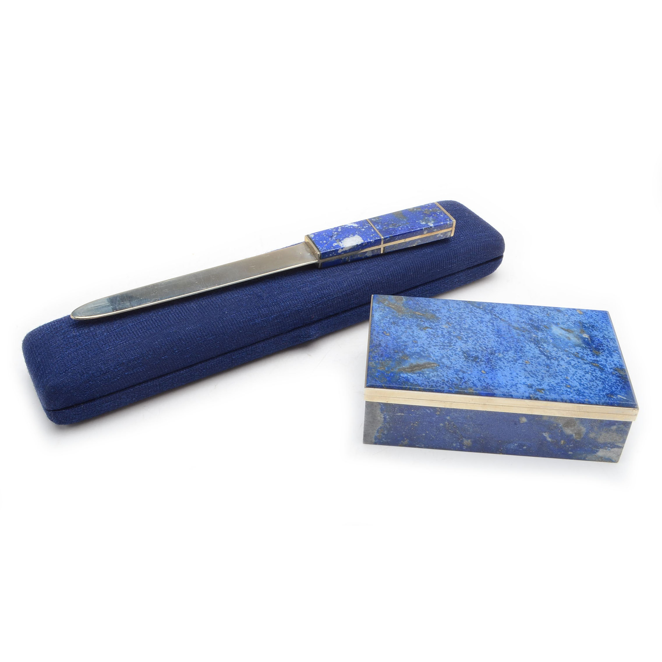 Morita Gil Lapis Trinket Box and Letter Opener