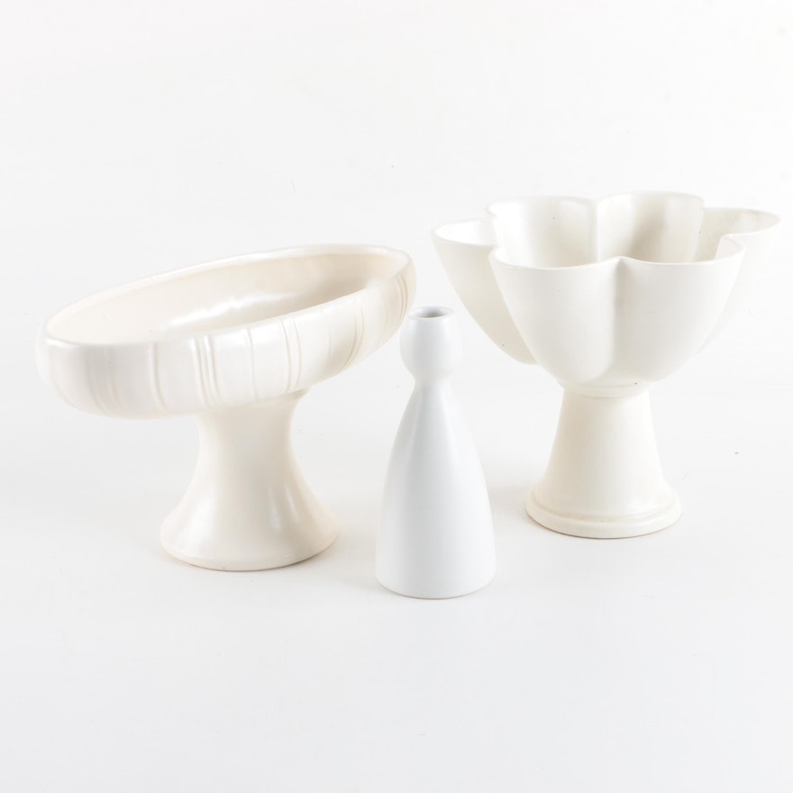 Vintage Ceramic Vases Featuring Jonathan Adler And Floraline By