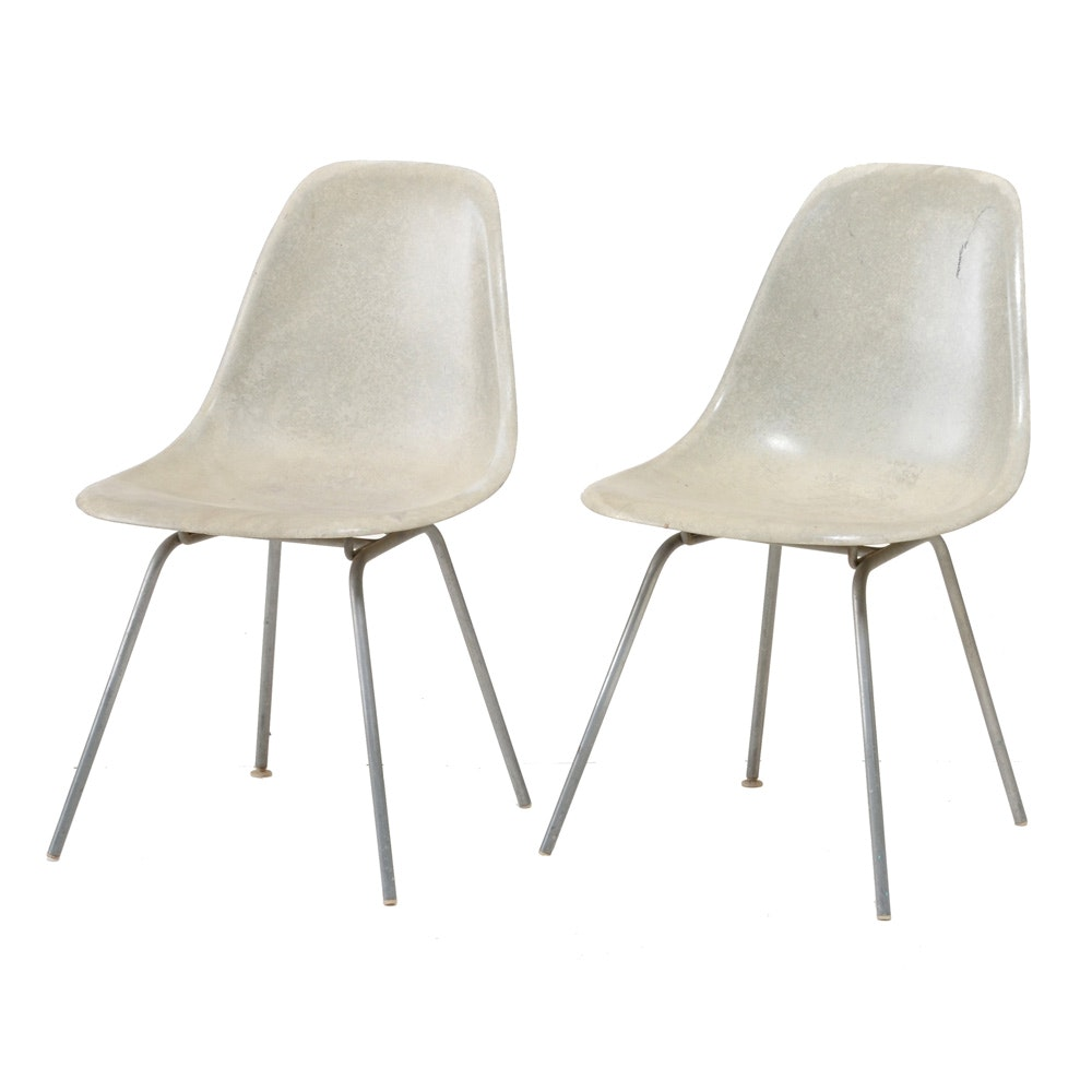 Eames for Herman Miller Molded Side Chairs