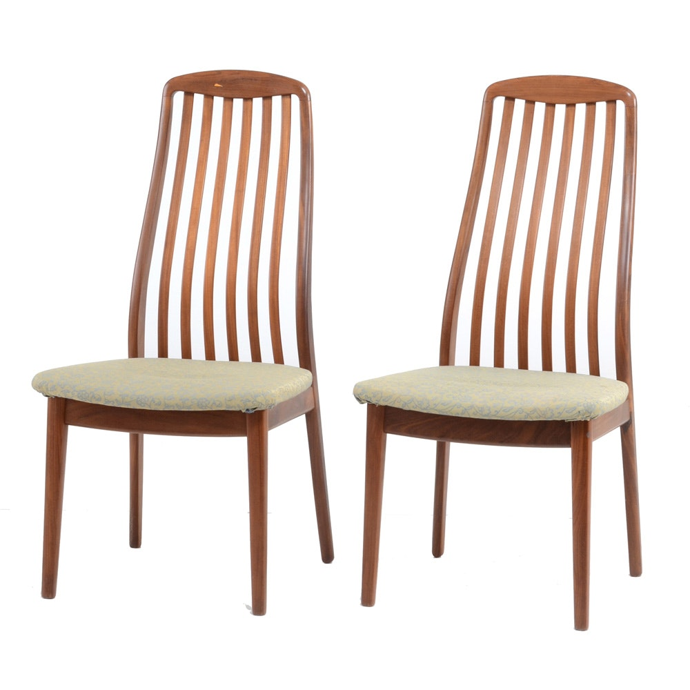 Pair of Mid Century Modern Side Chairs