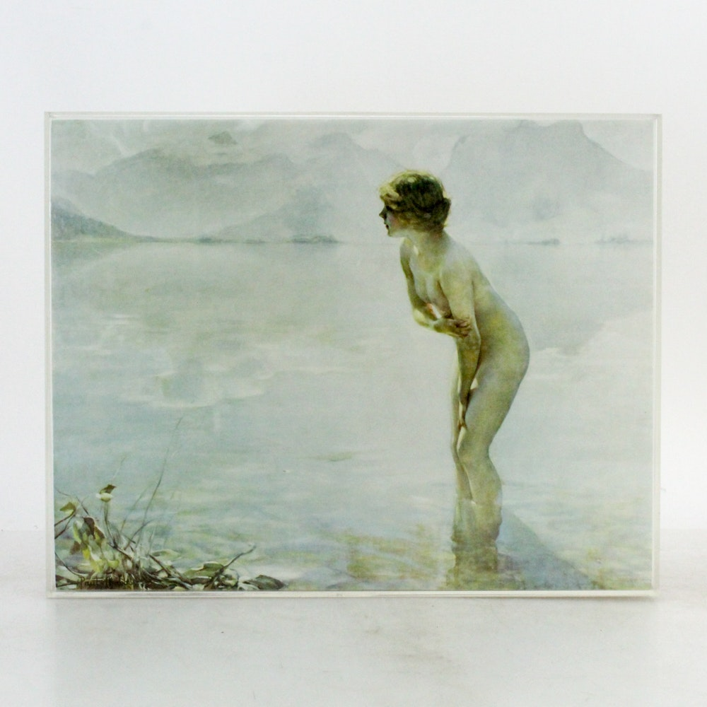 "Giclee After Paul Chabas ""September Morn"""