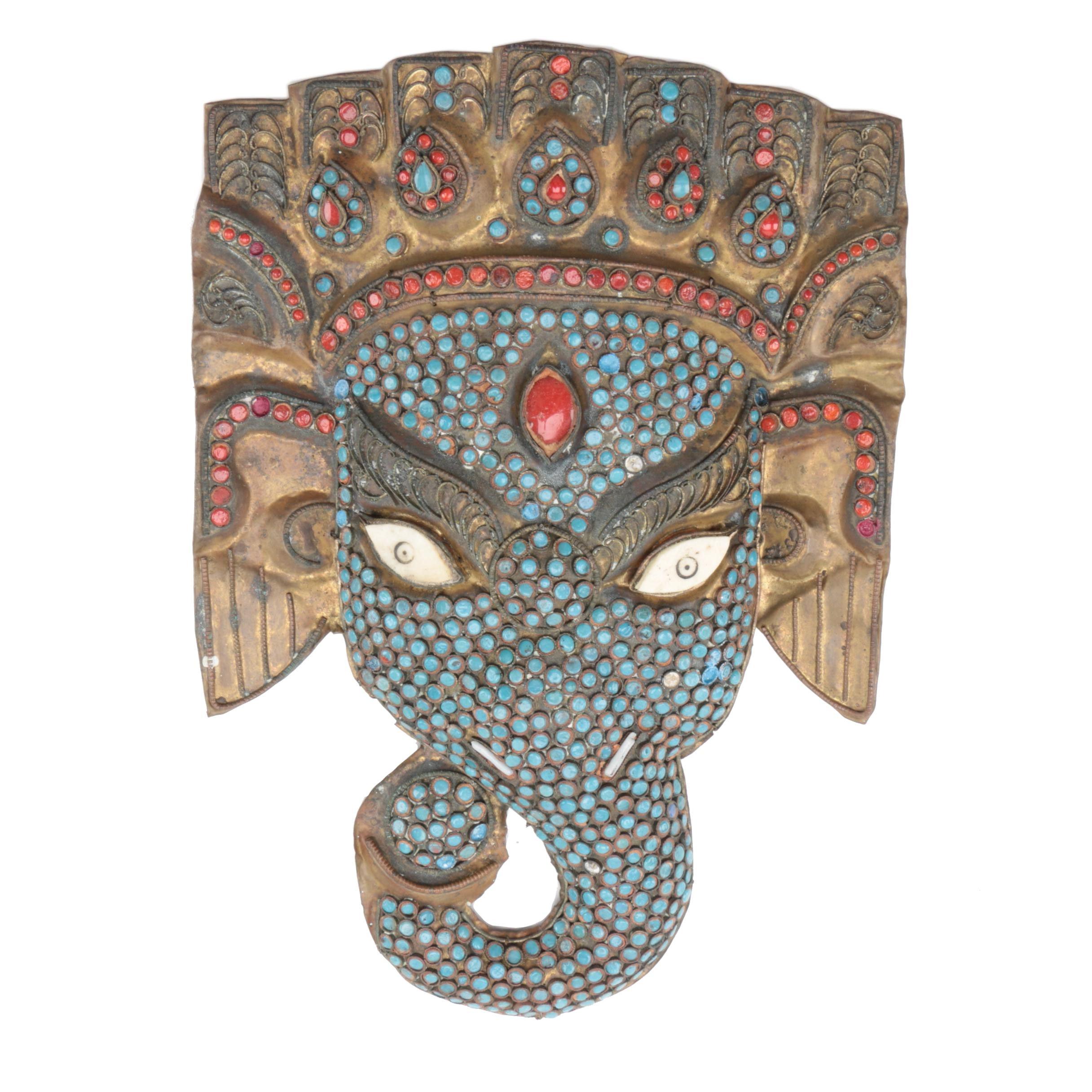 Tibetan Style Elephant Mask