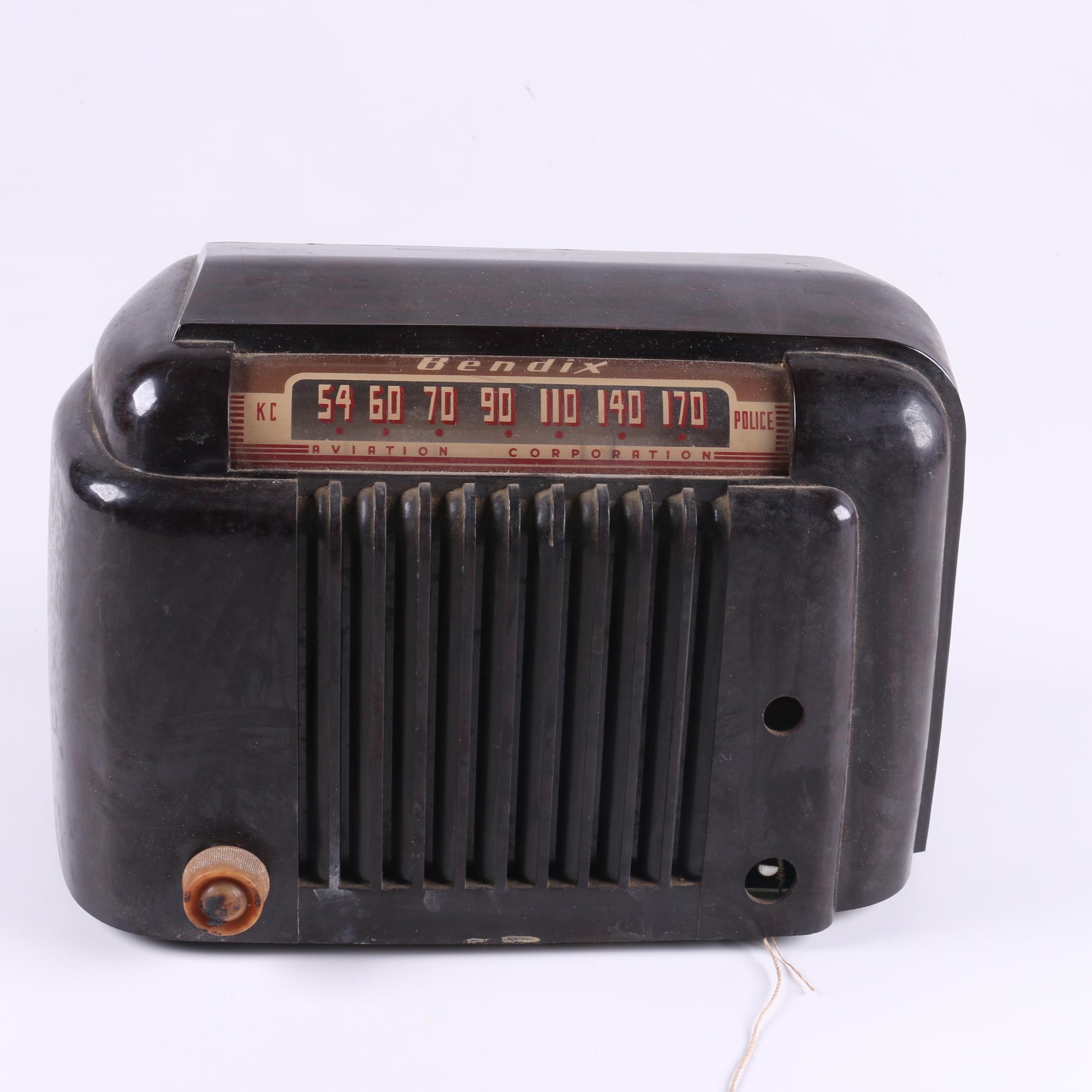 Vintage Bendix Radio