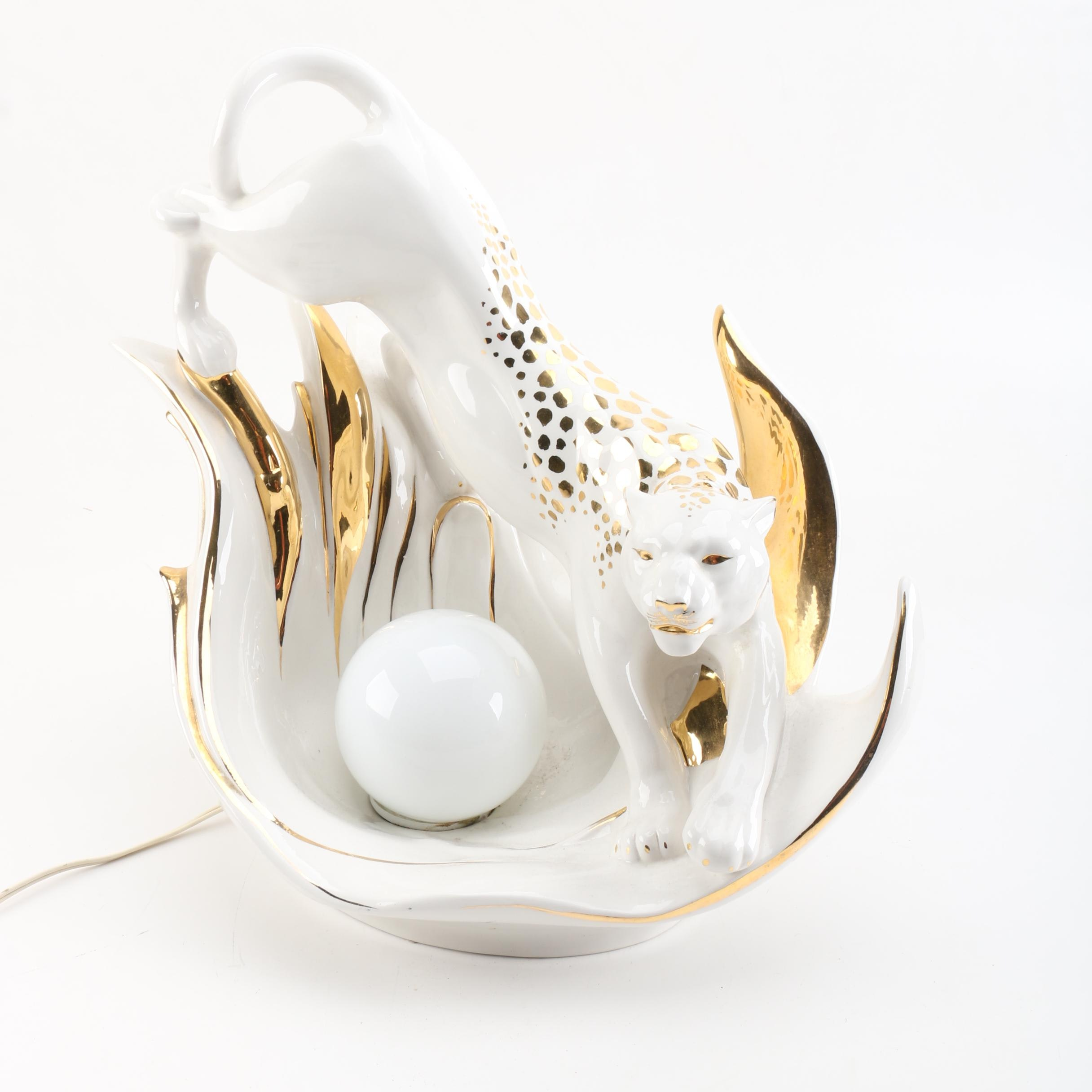 Carraro Vittorio Ceramic Accent Lamp