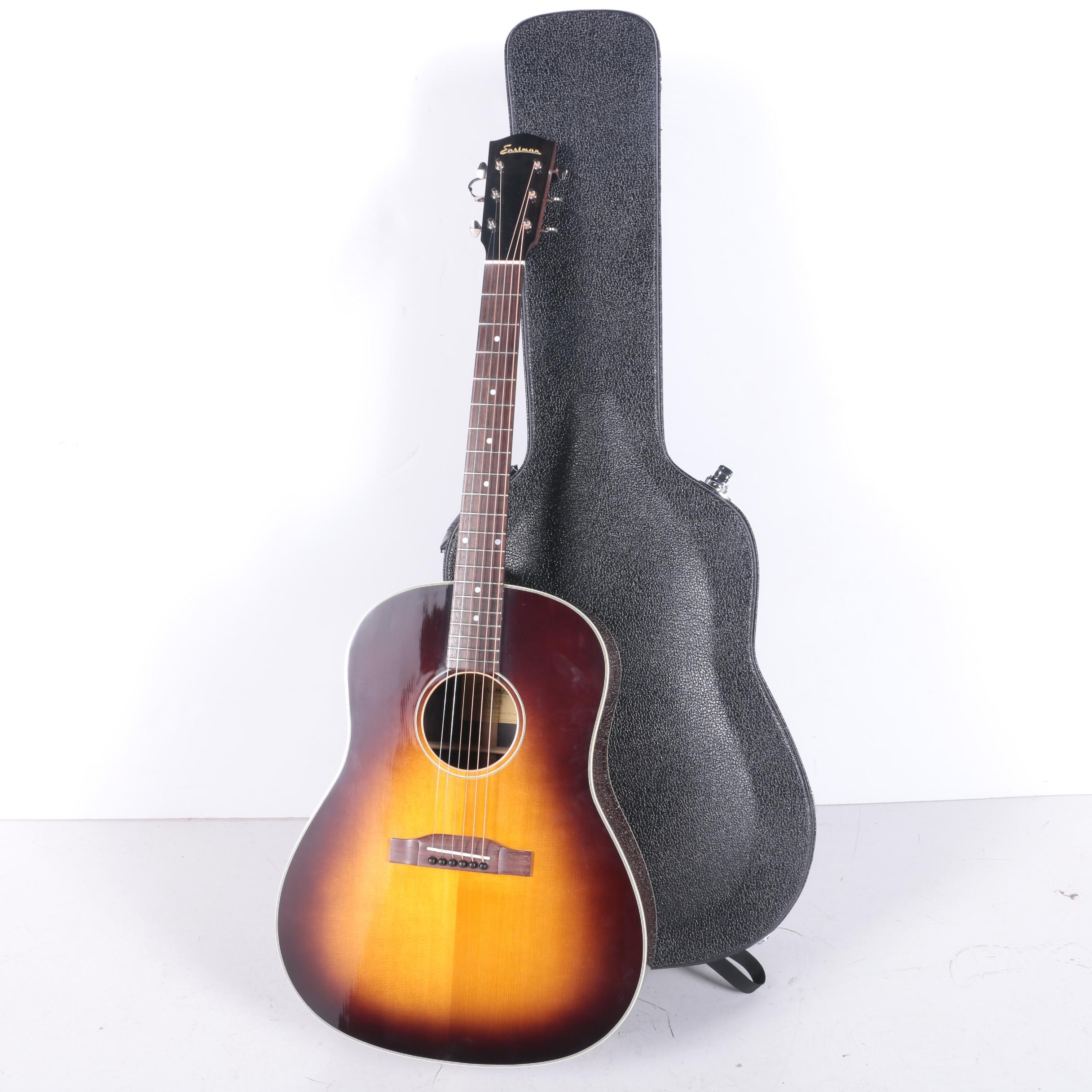 Eastman Dreadnought Style Acoustic Guitar and Case