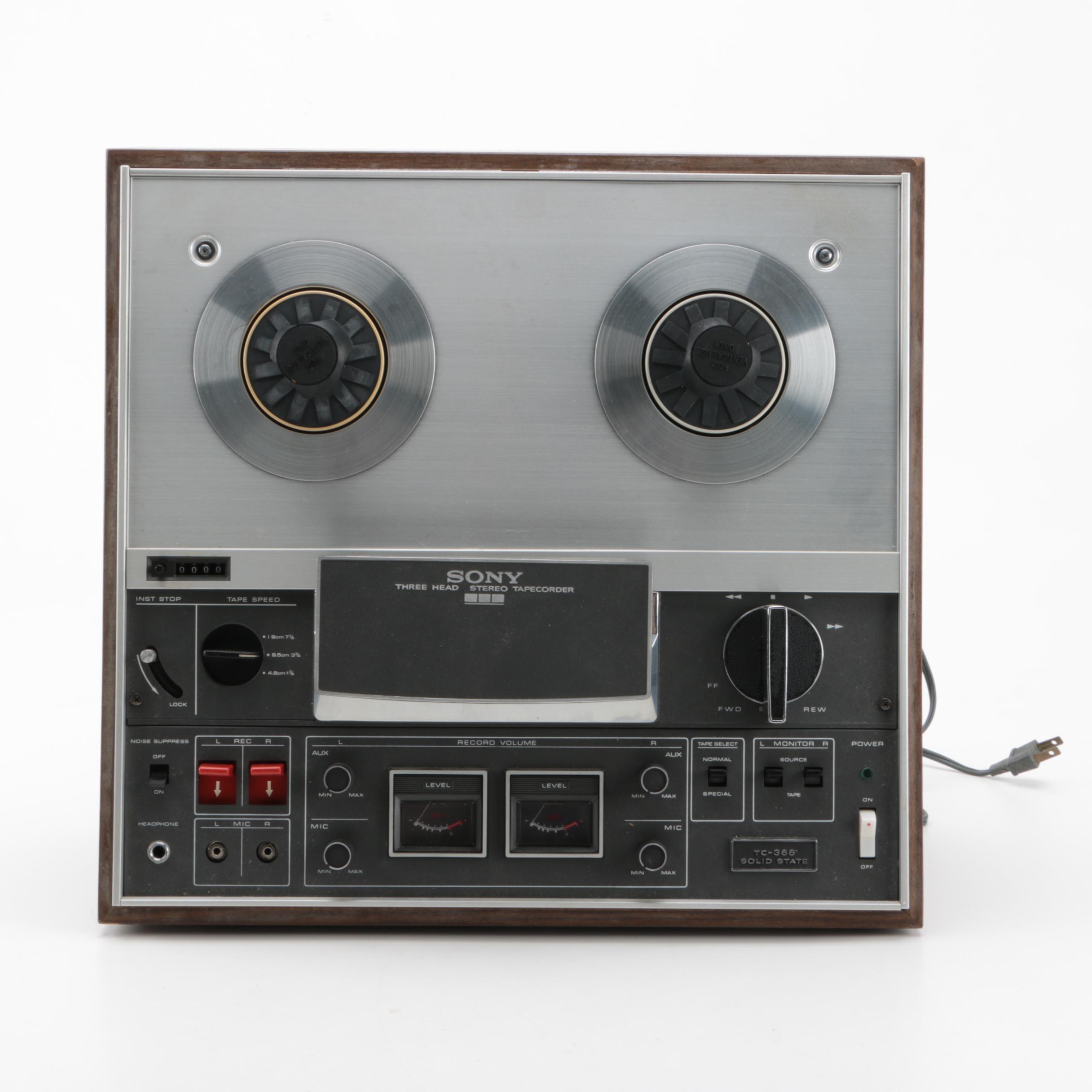 Vintage Sony Reel-to-Reel Recorder