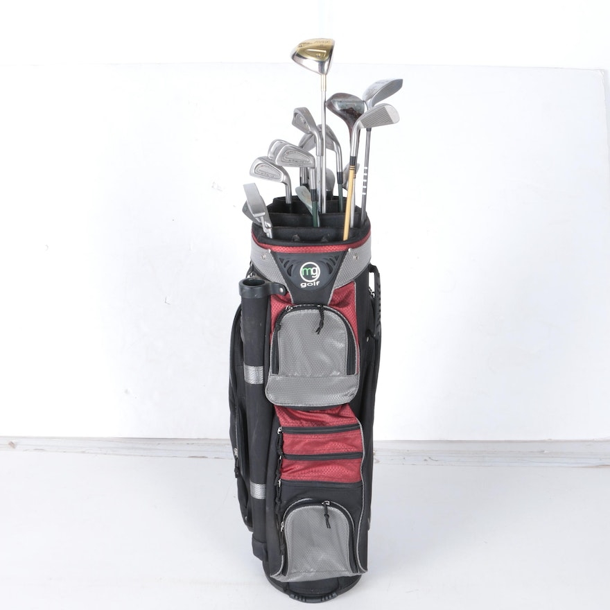 Goldwin Daiwa And More Golf Clubs With Mg Bag