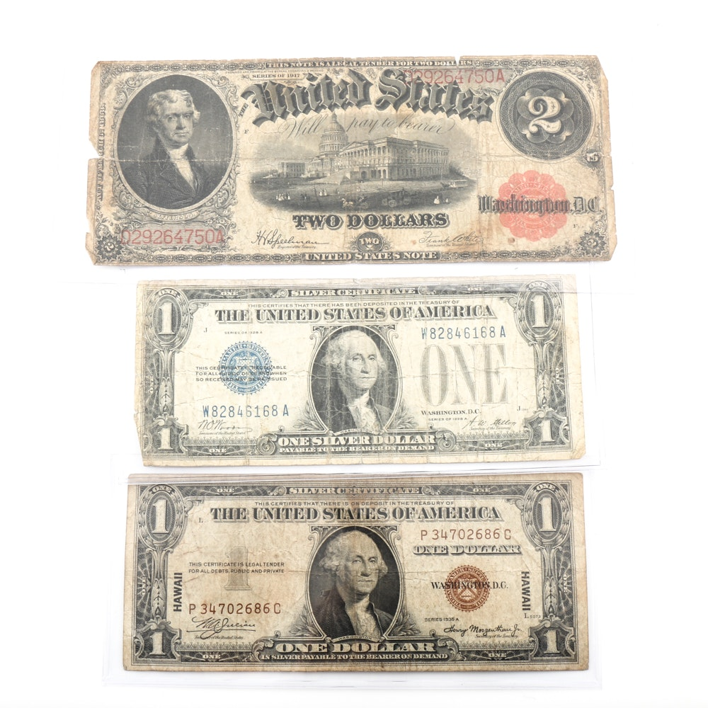 United States Large Note and Silver Certificate