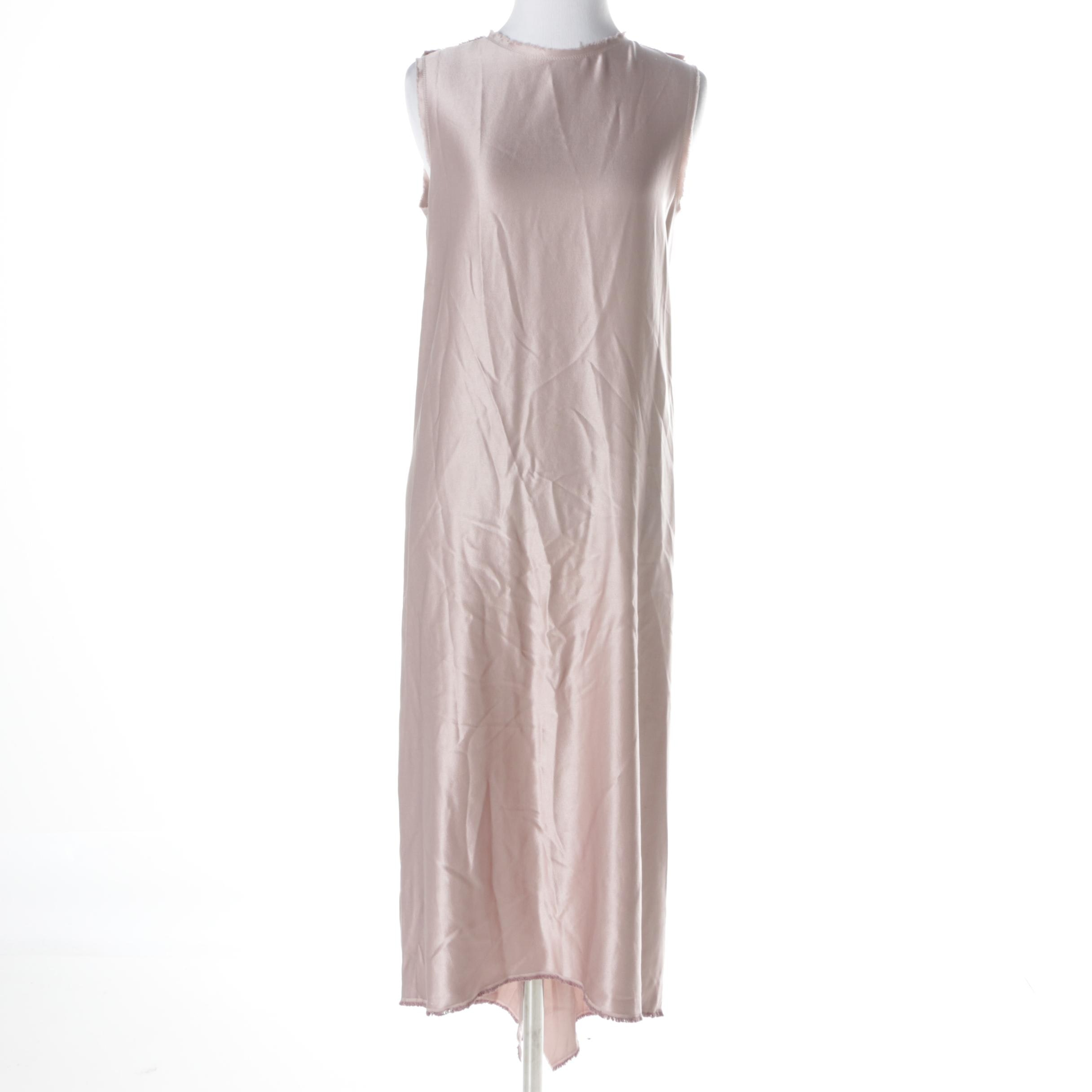 Lanvin Pink Silk Dress
