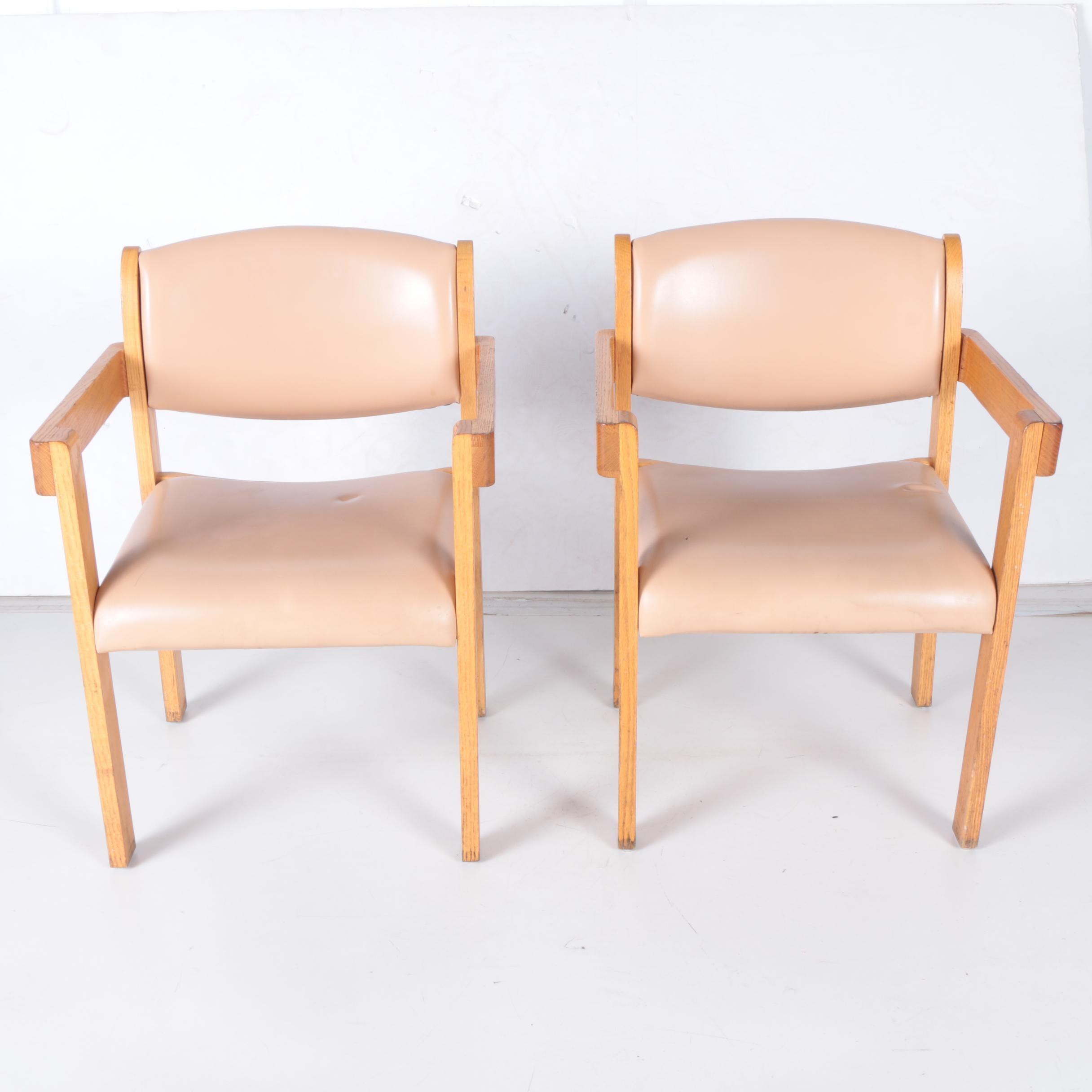 Vintage Mid Century Modern Armchairs