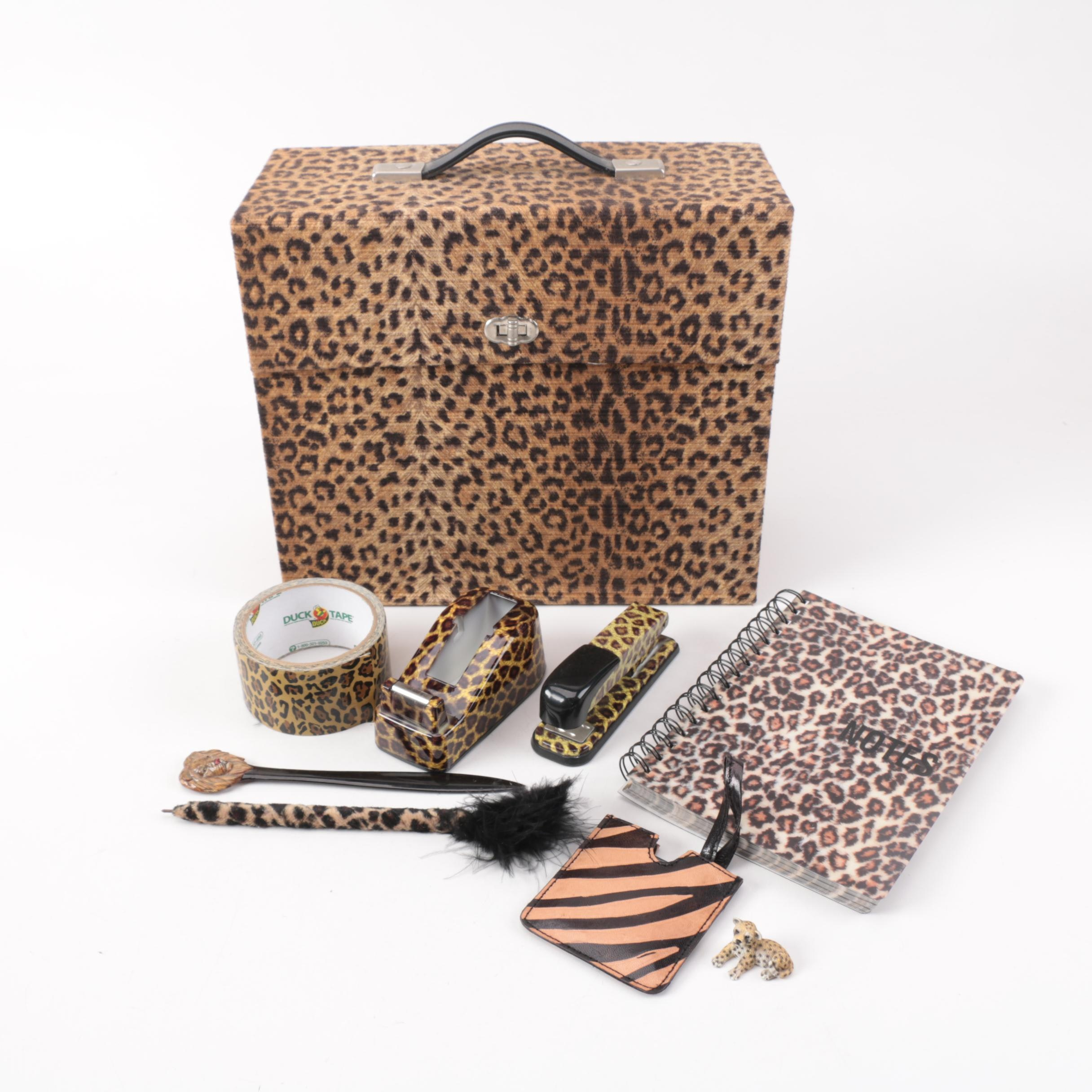 Animal Print Office Supplies ...