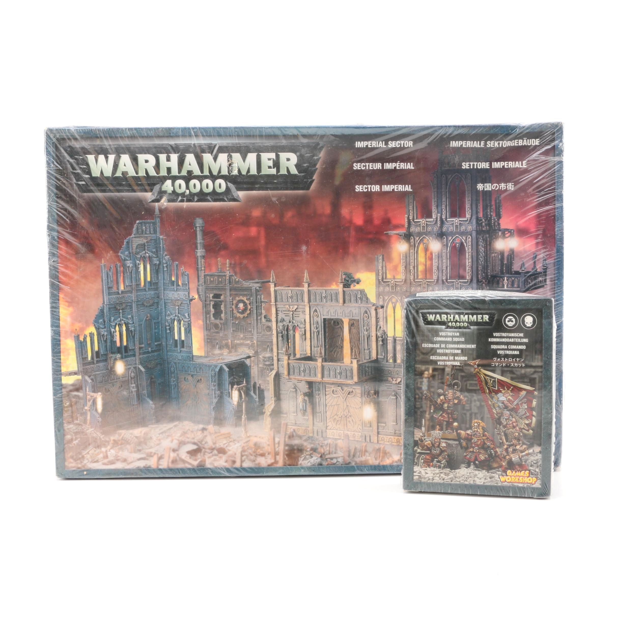 "Games Workshop ""Warhammer 40,000"" Model Kits"