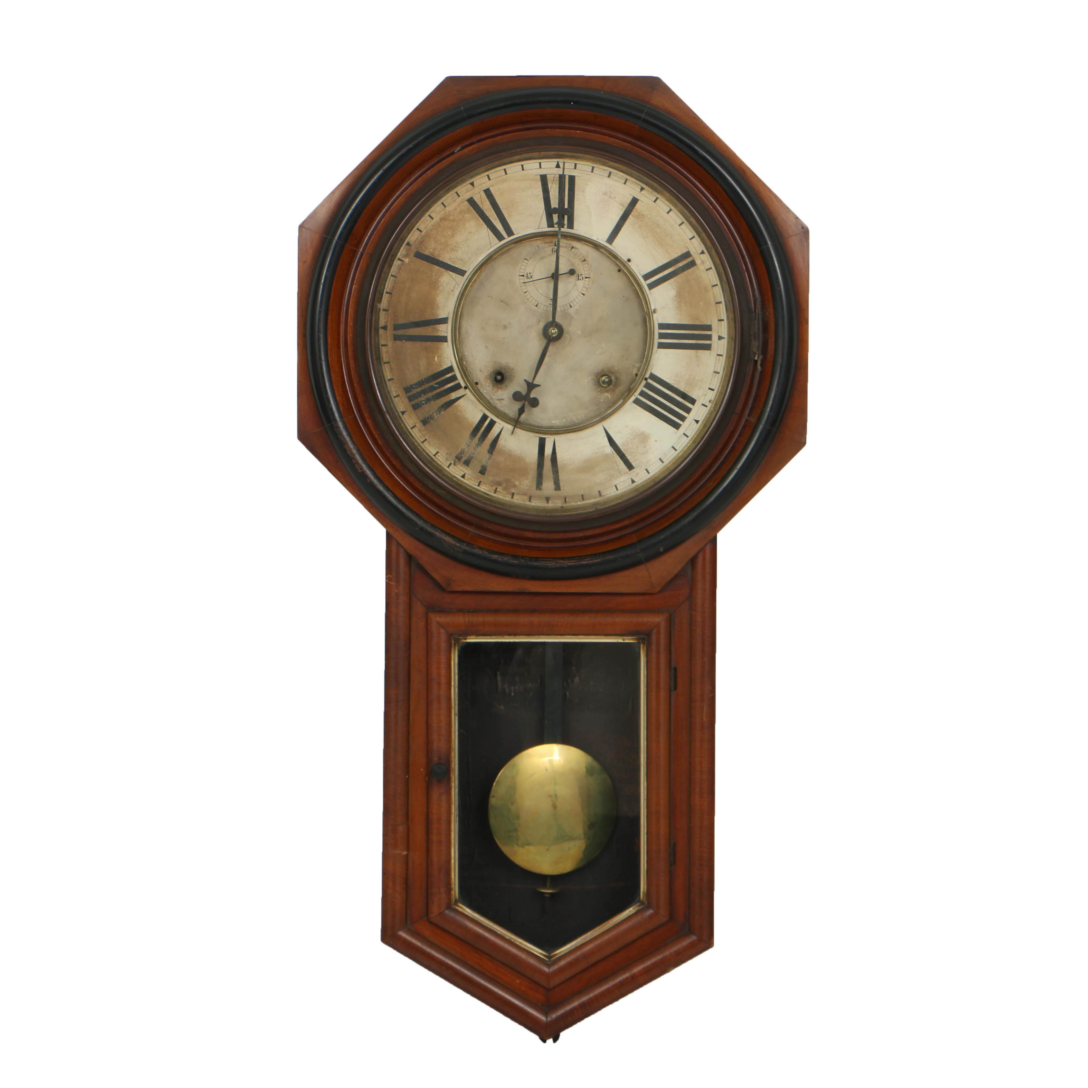 Antique Ansonia Wall Clock
