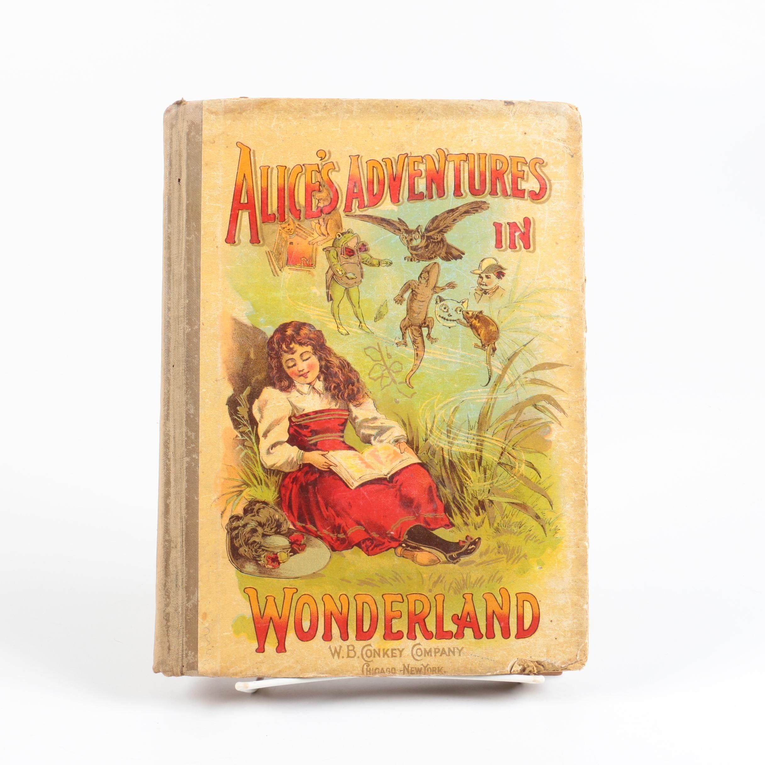 "Circa 1898 ""Alice's Adventures in Wonderland"""