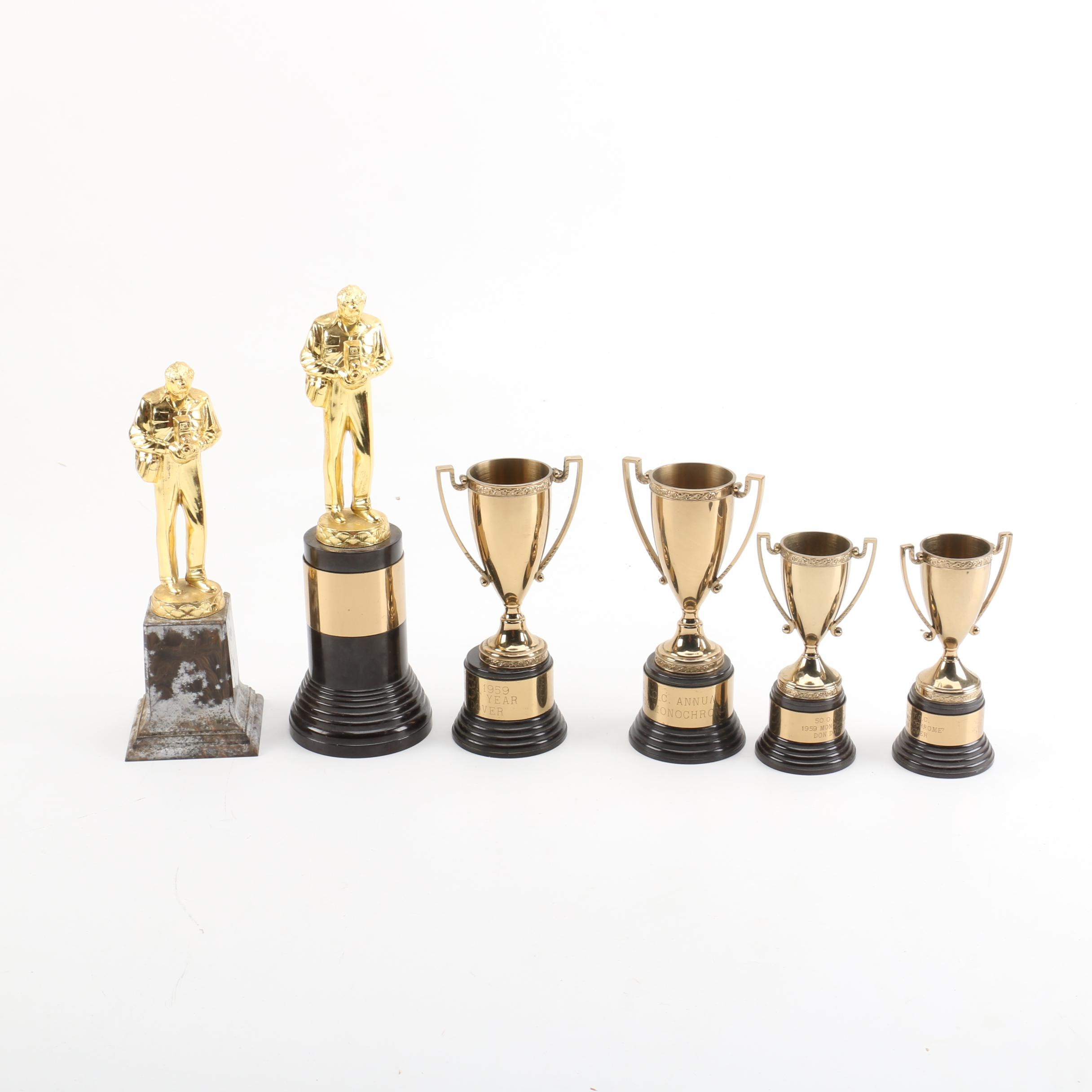 Mid Century Don Dover Photography Trophies