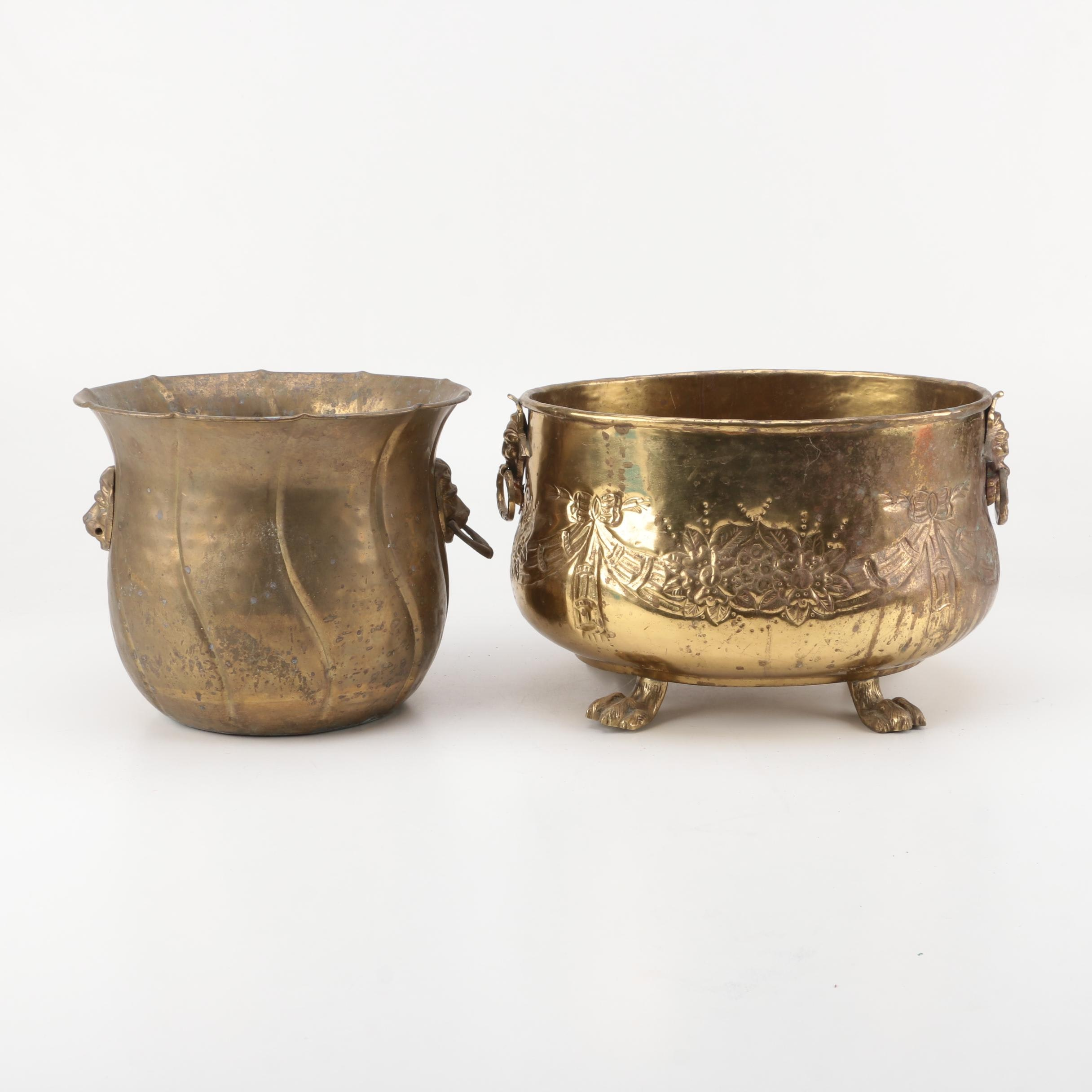 Decorative Brass Pots