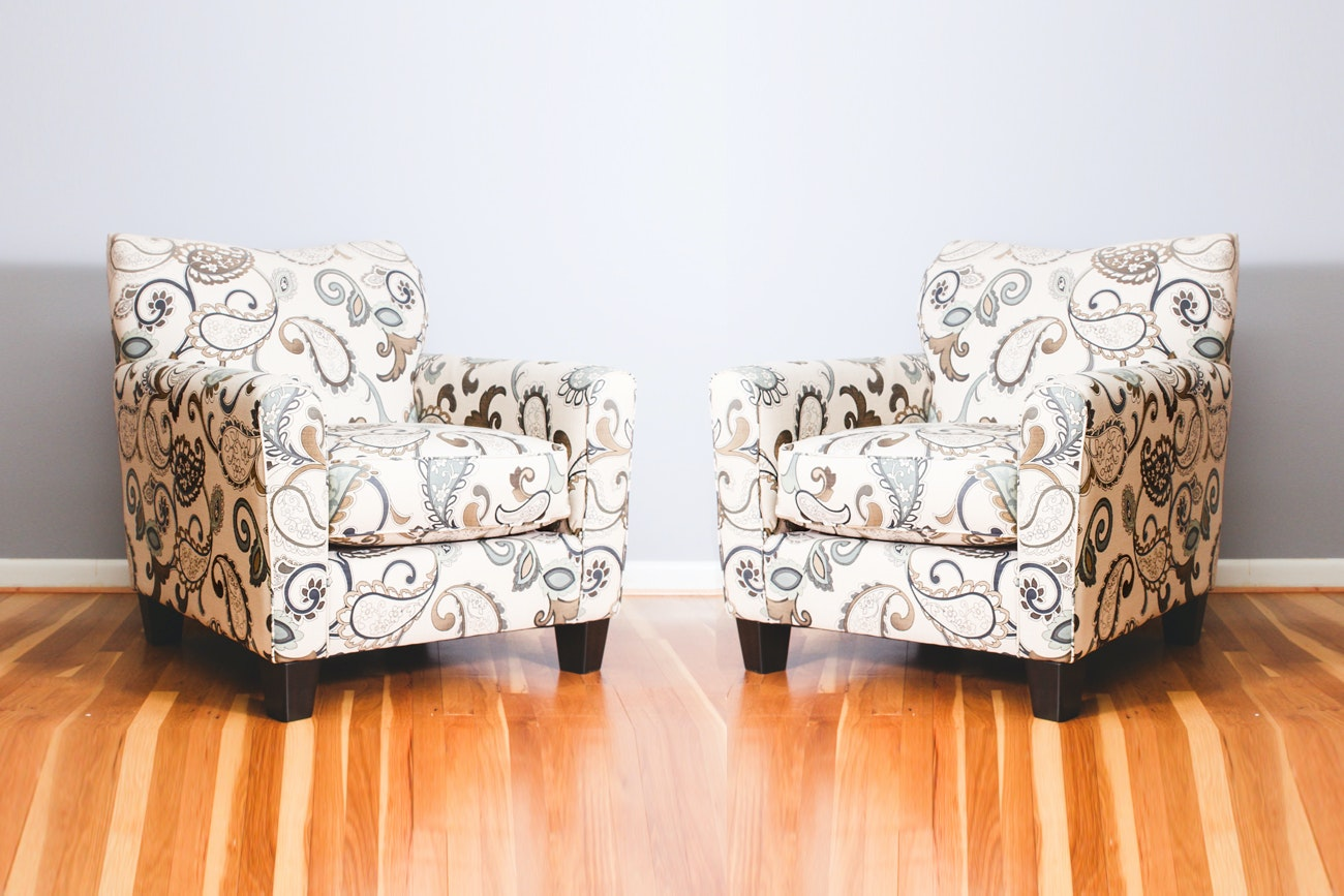 Pair of Club Chairs by Ashley Furniture
