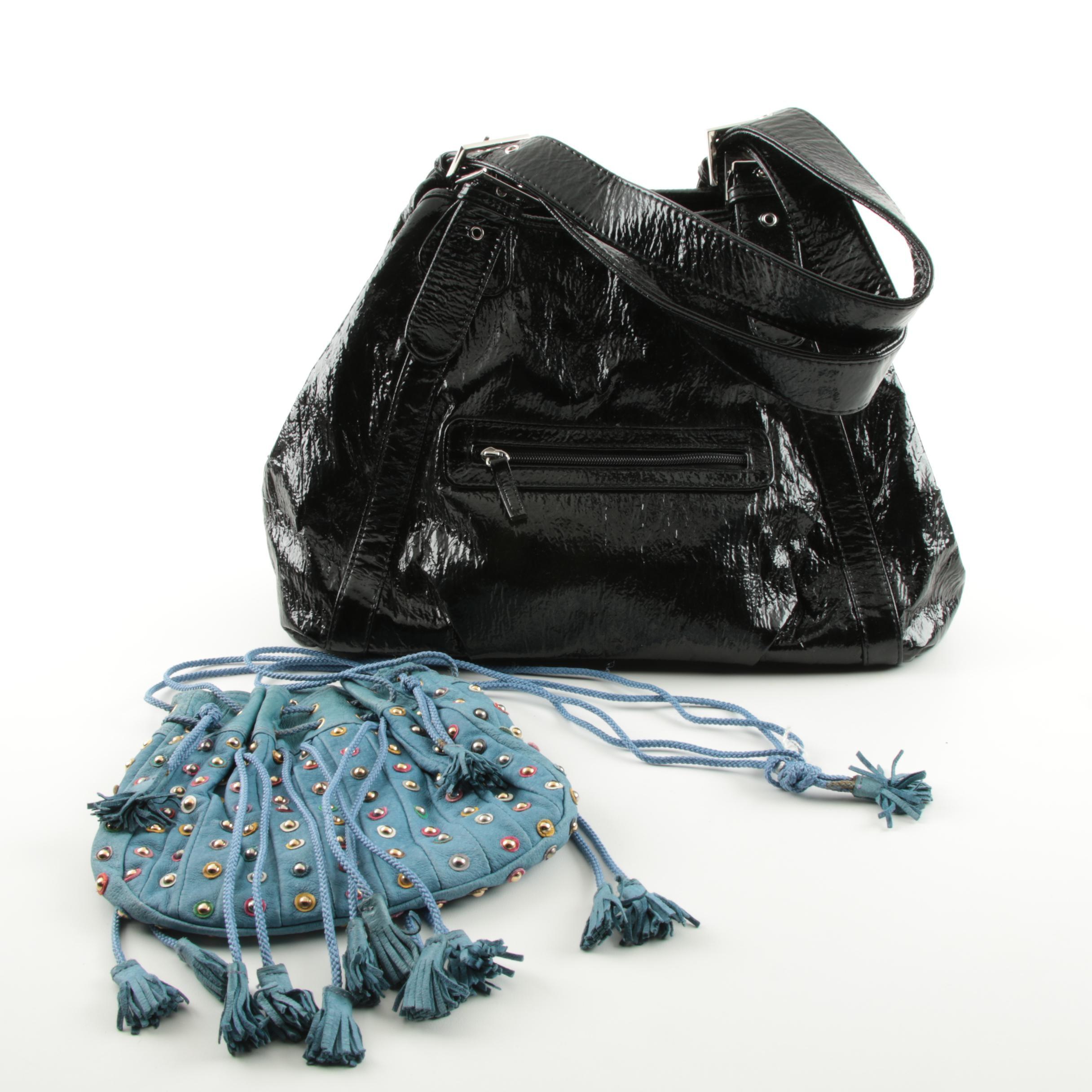 I.Magnin and Big Buddha Leather Handbags