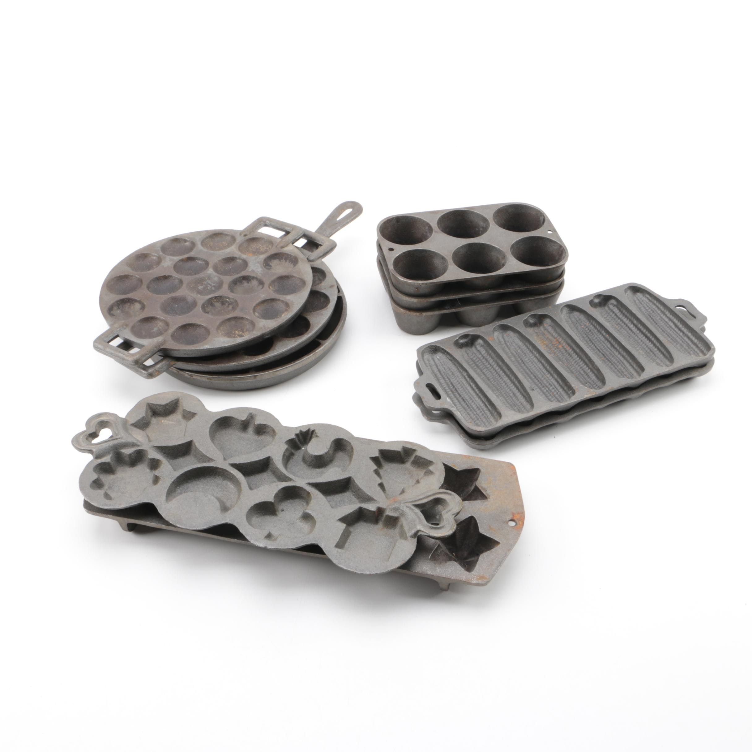 Cast Iron Bakeware Including Lodge