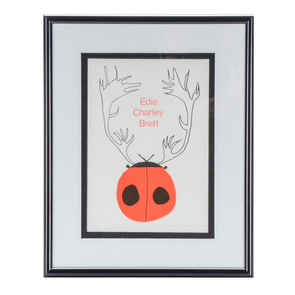 Holiday Lithograph Print Designed by Edie, Brett, and Charley Harper