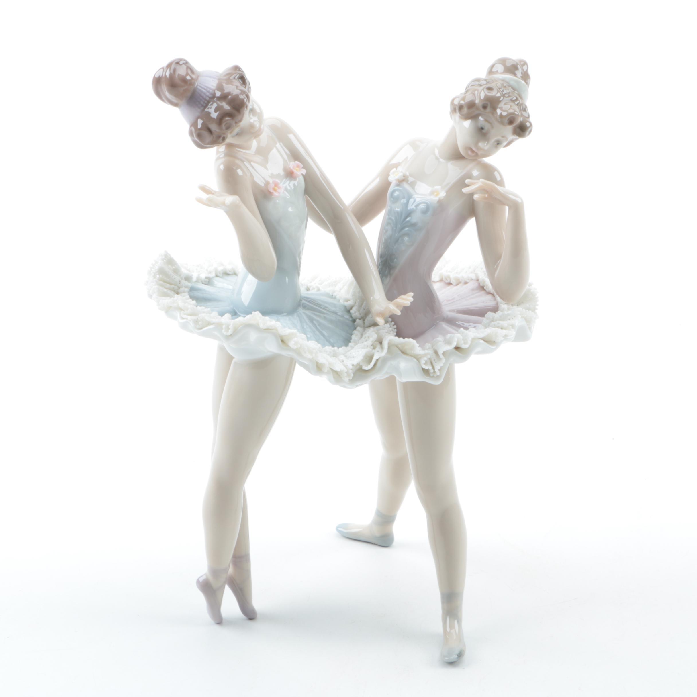 "Retired Lladro ""Dress Rehearsal"" Figurine"