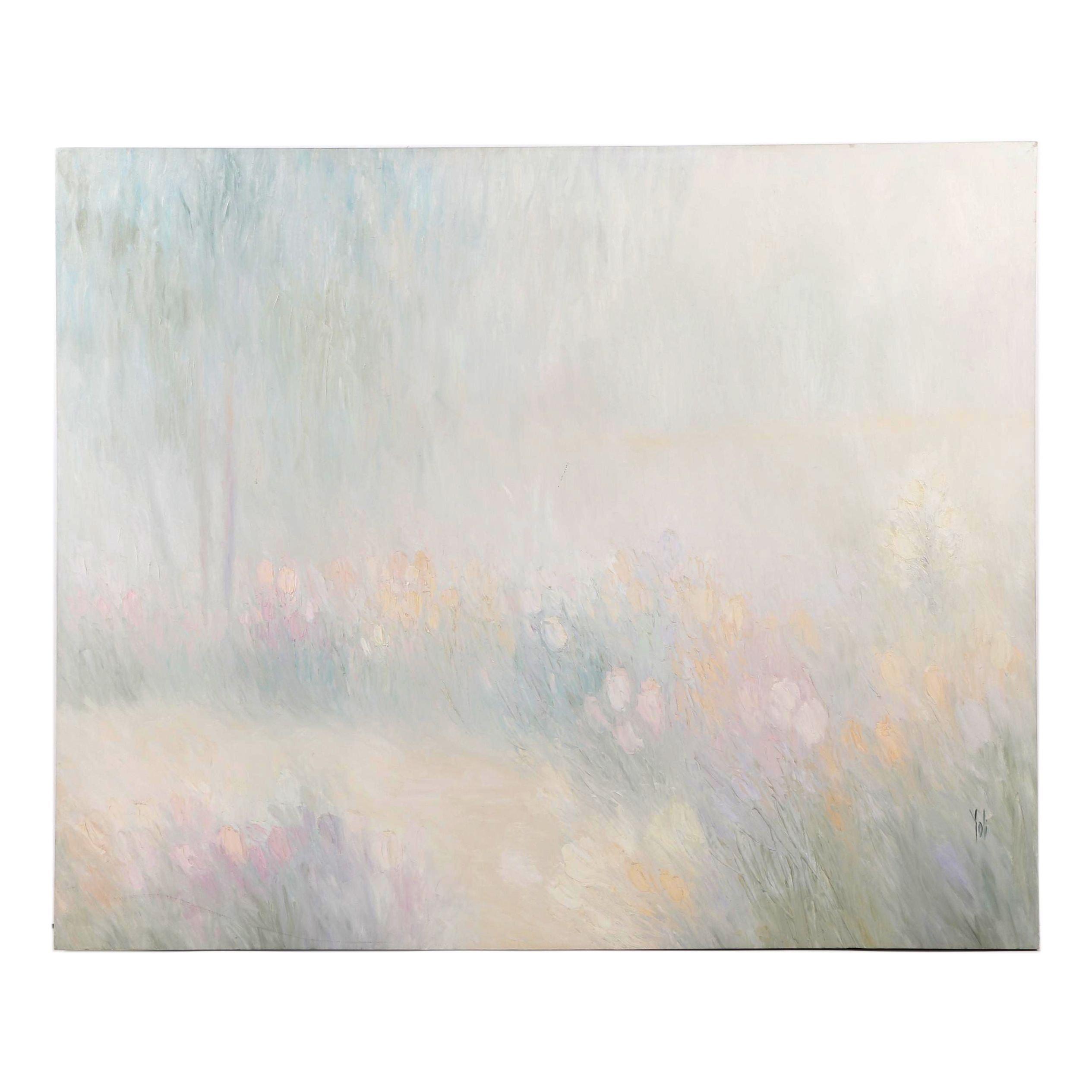 "Yoli Oil Painting ""Cascade Path"""