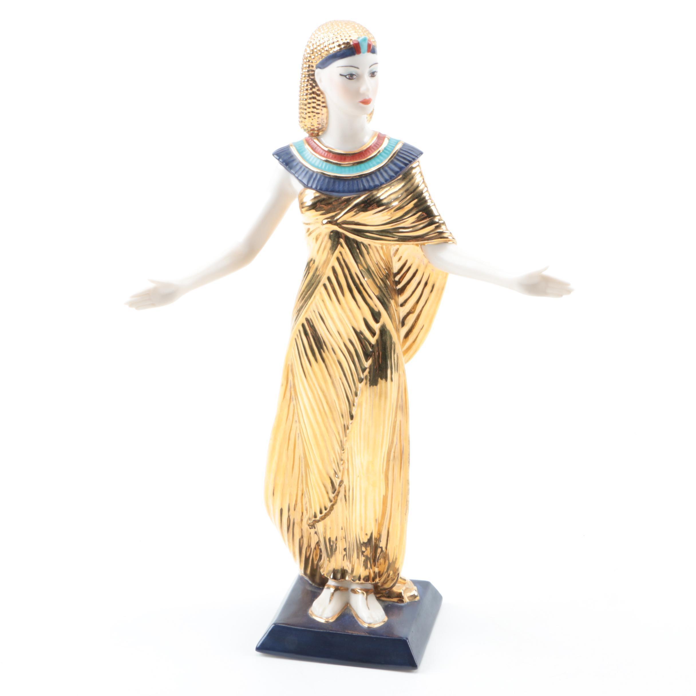 """Selket The Goddess of Magic"" Franklin Mint Figurine"