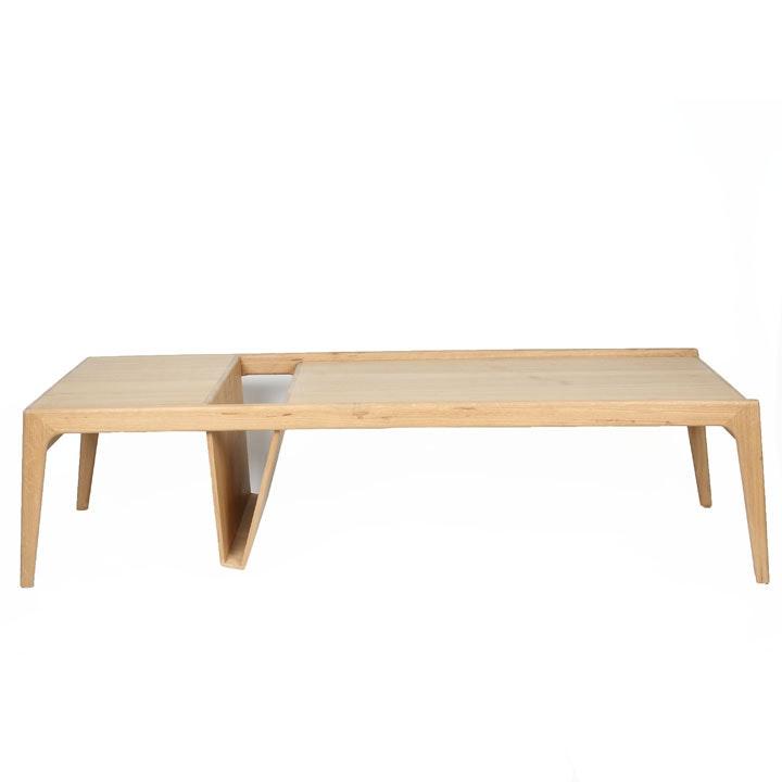 "Modern Style ""Mag"" Oak Coffee Table by Ali Sandifer"