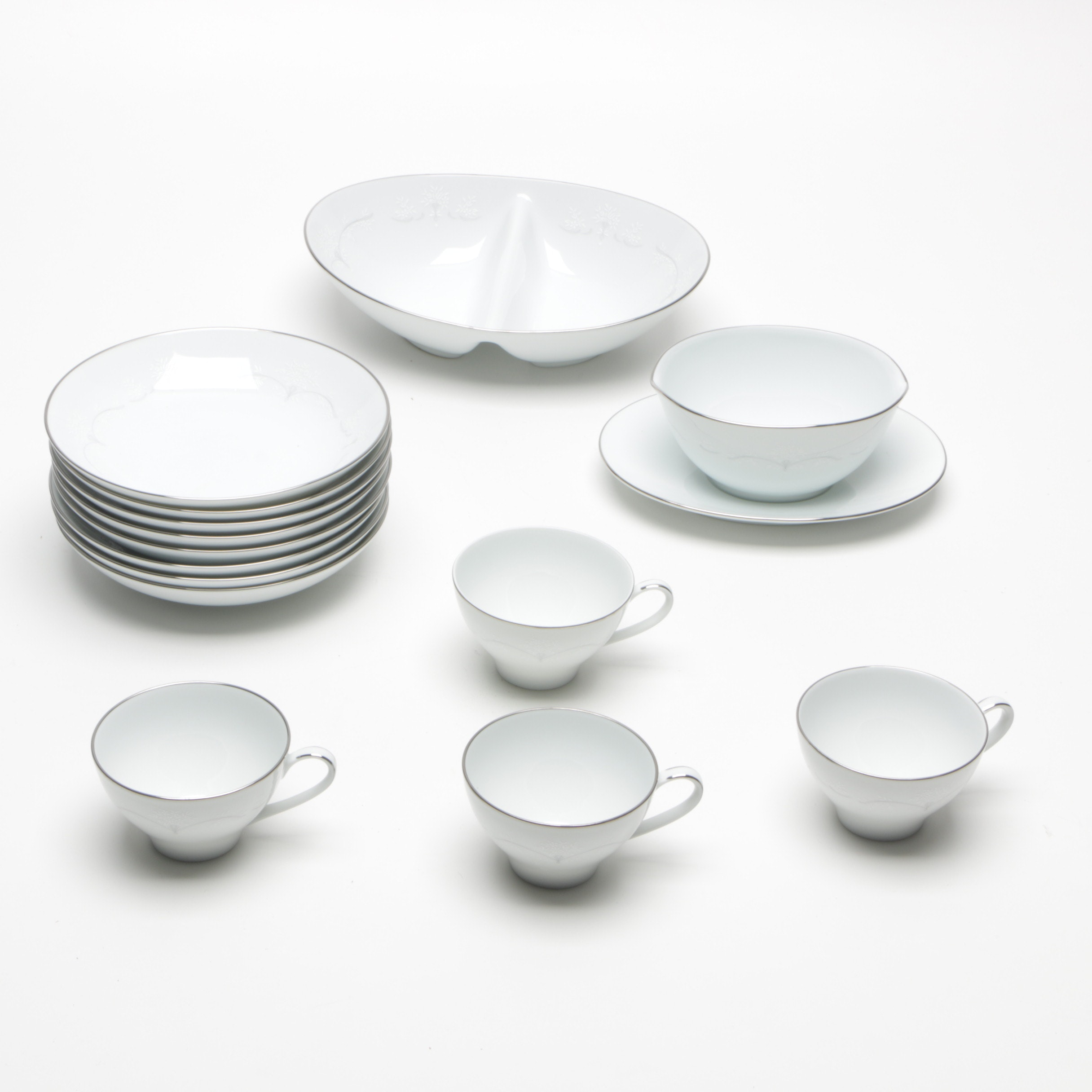 "Noritake ""Whitebrook"" Dishware"