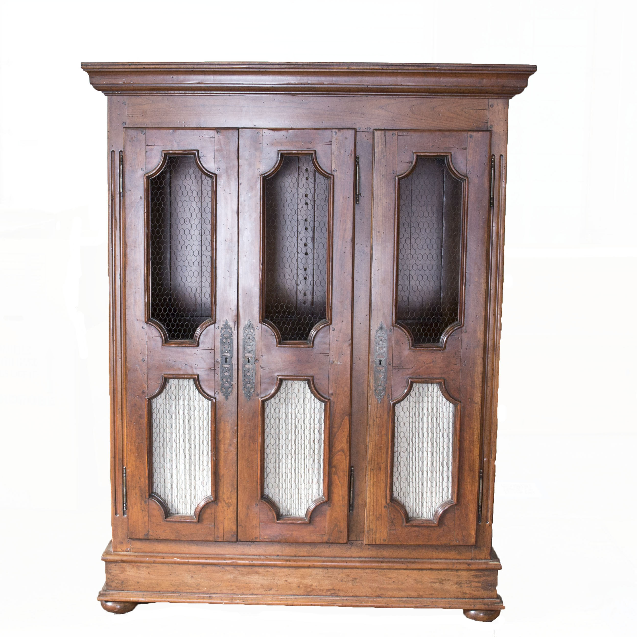 Vintage French Style Fruitwood Cabinet