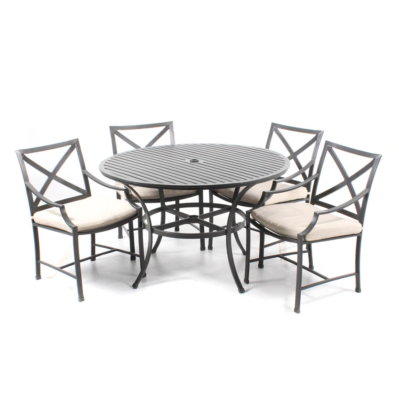 Restoration Hardware Patio Table and Chairs