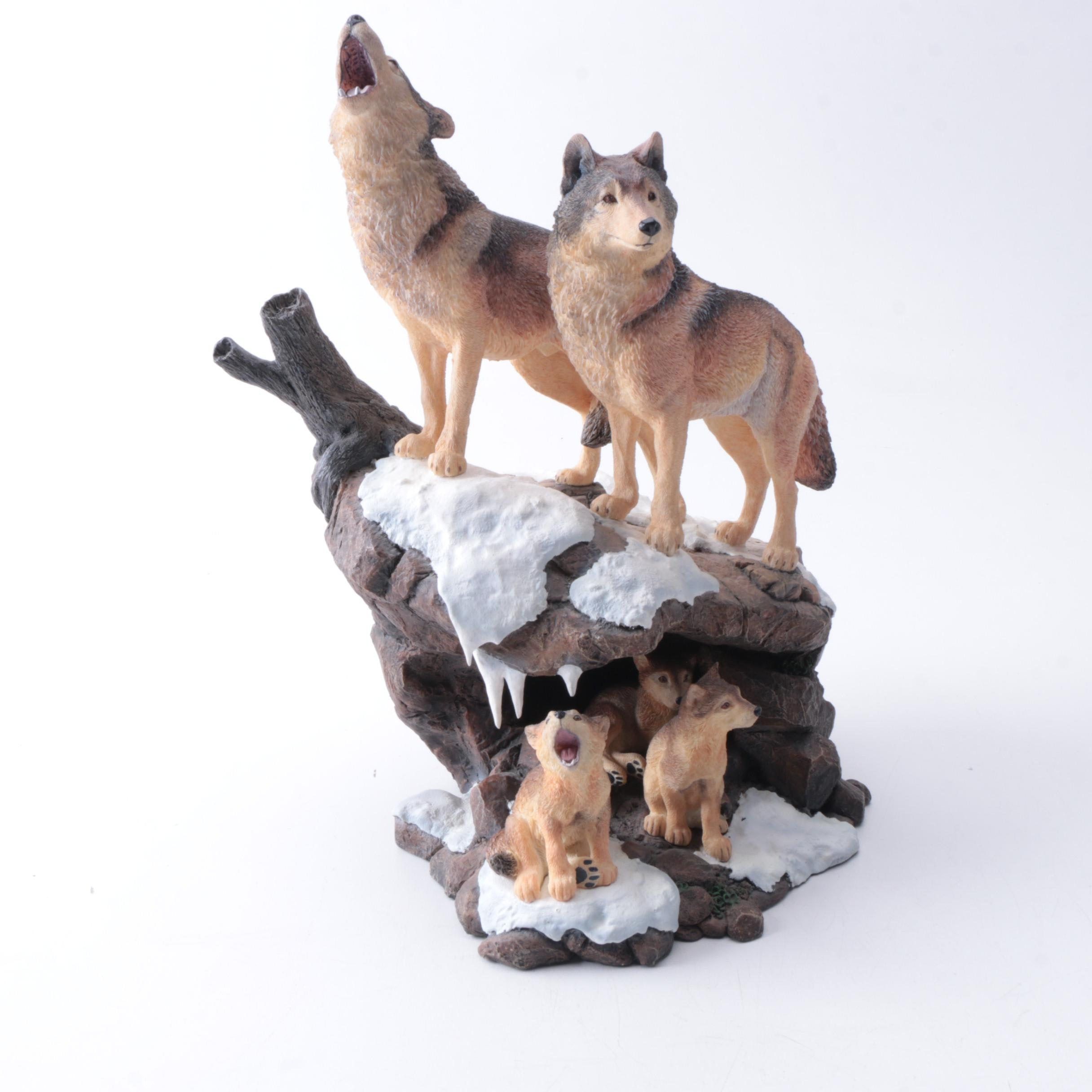 """Danbury Mint """"Wilderness Call"""" Figurine by Nick Bibby"""