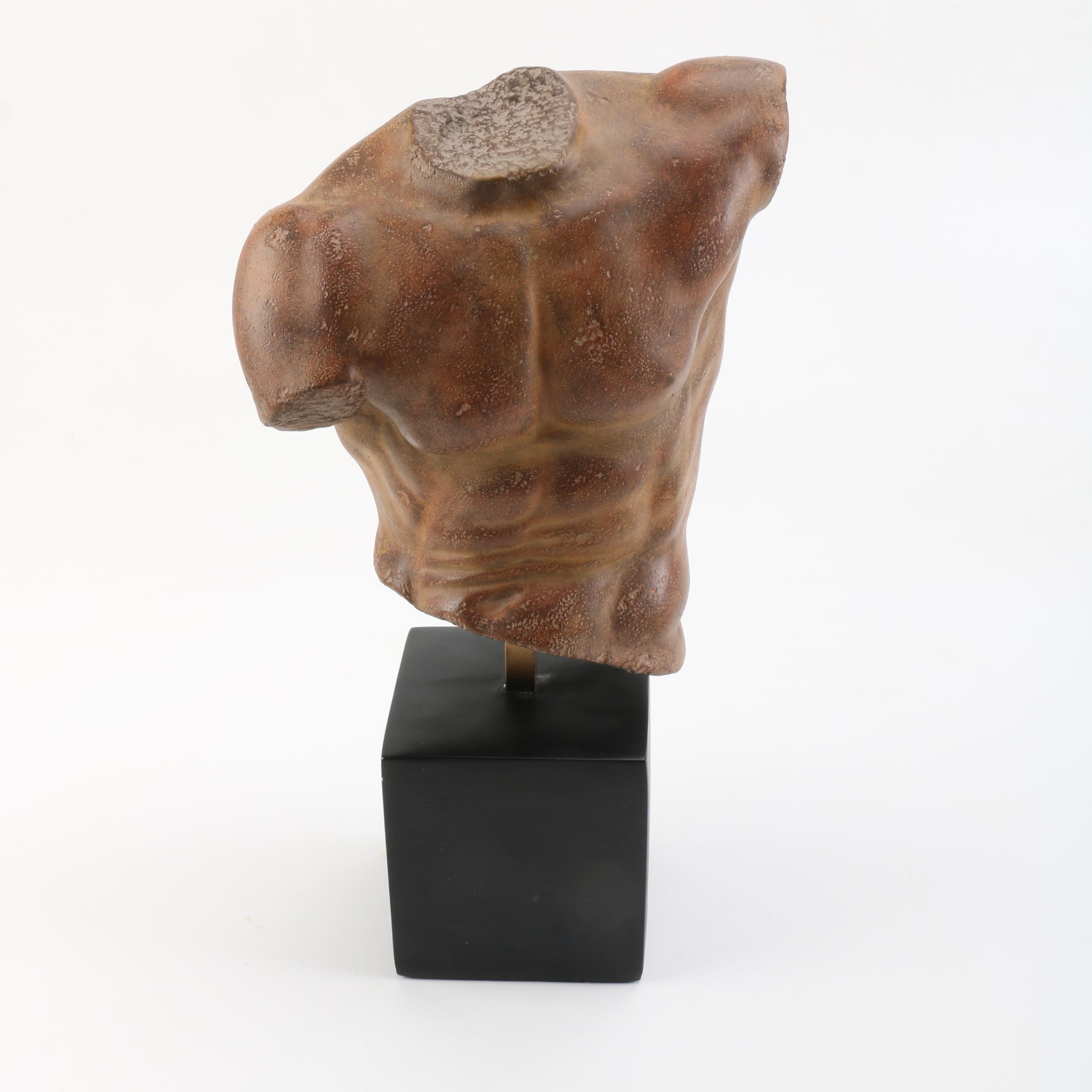 """""""The Male Torso"""" Alvastone Statue"""