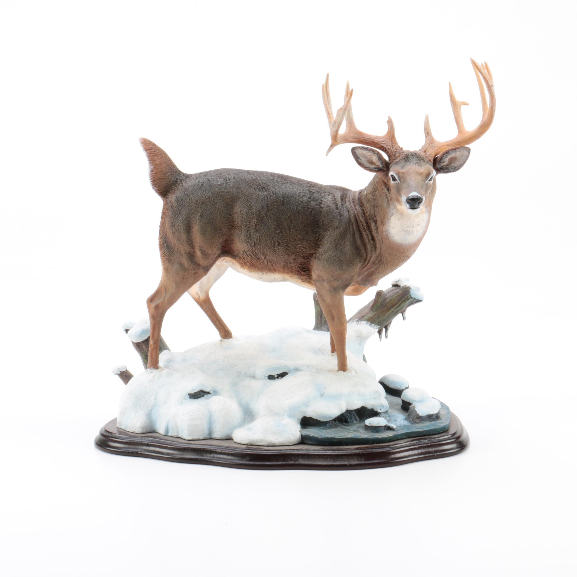 "Danbury Mint ""Monster Buck"" Resin Figurine by Nick Bibby"