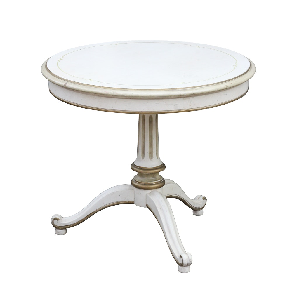 Vintage French Provincial Style Accent Table by Drexel