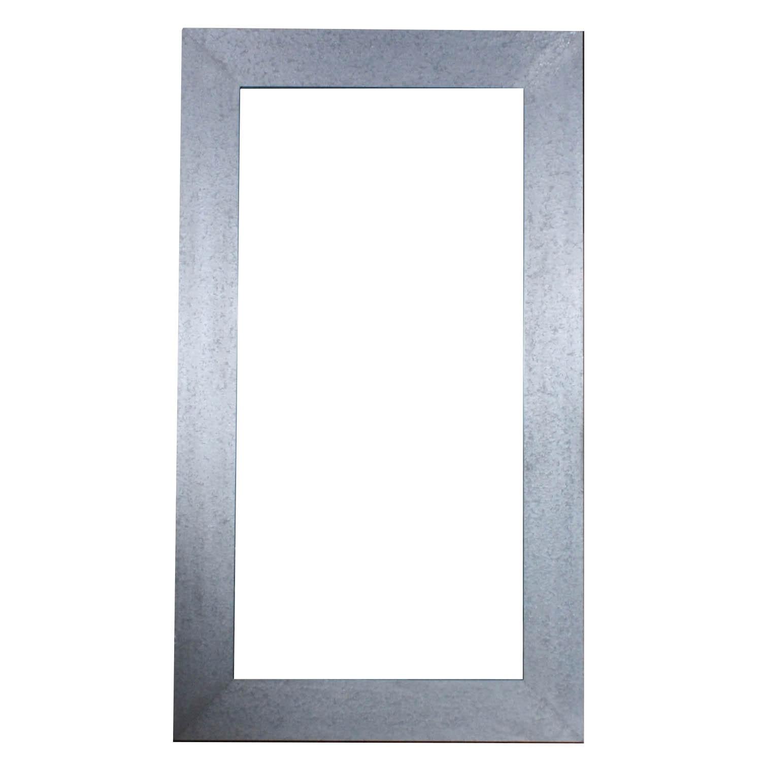 Industrial Chic Oversize Galvanized Wall Mirror