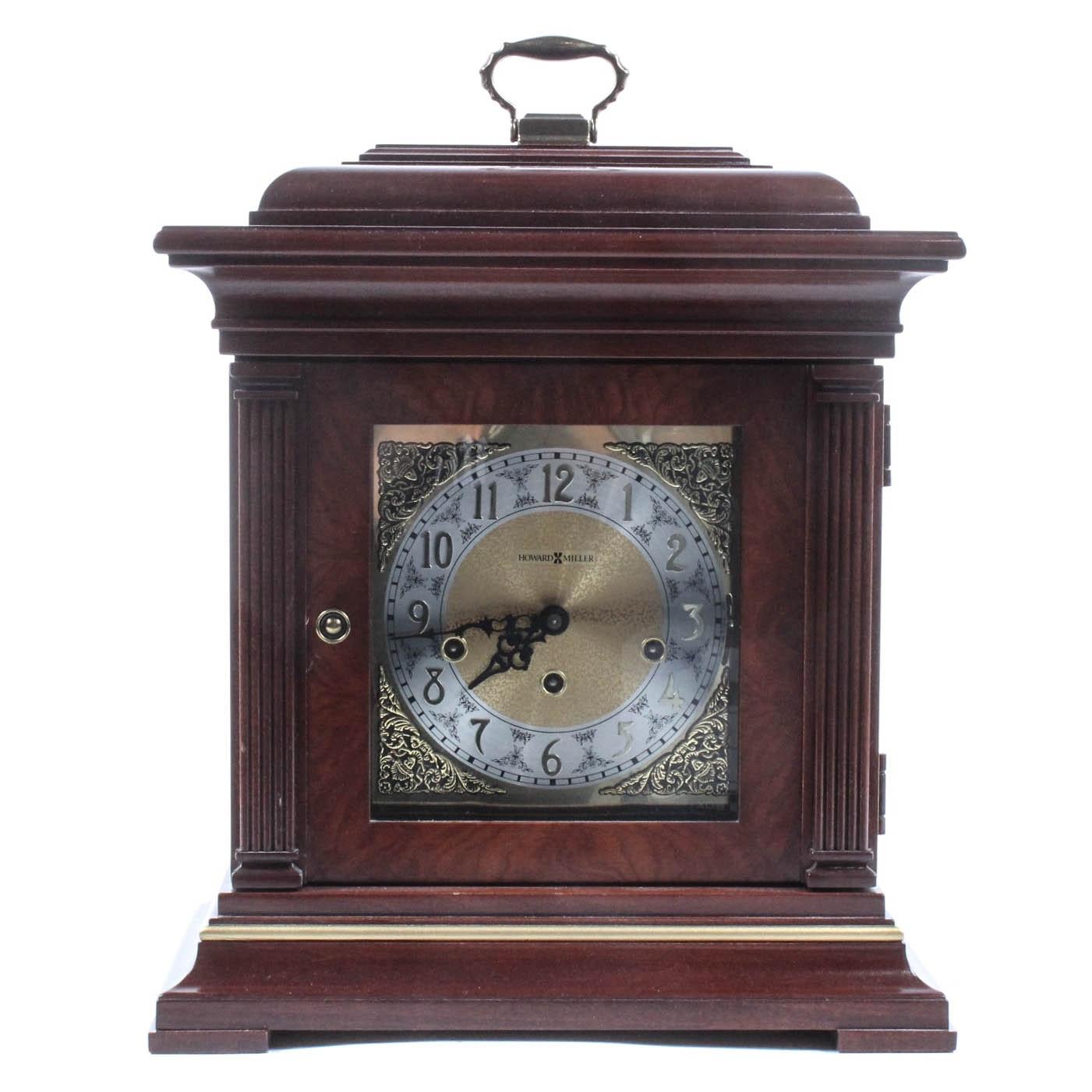 Howard Miller Chiming Key Wound Mantel Clock