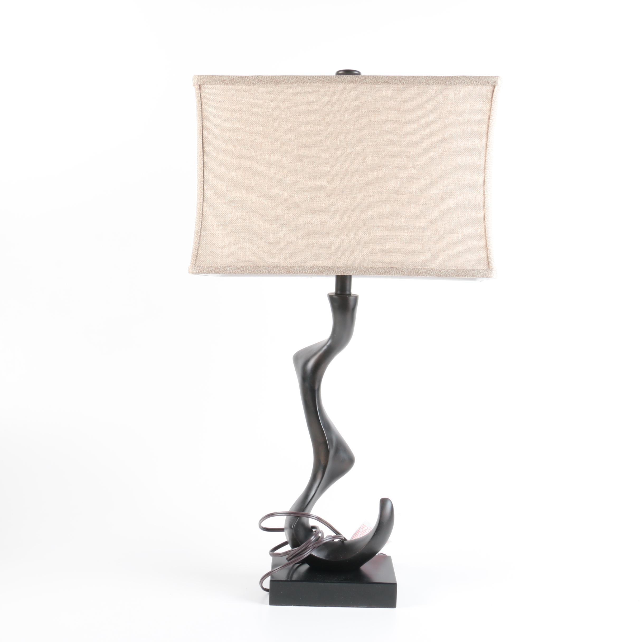Freeform Resin Table Lamp