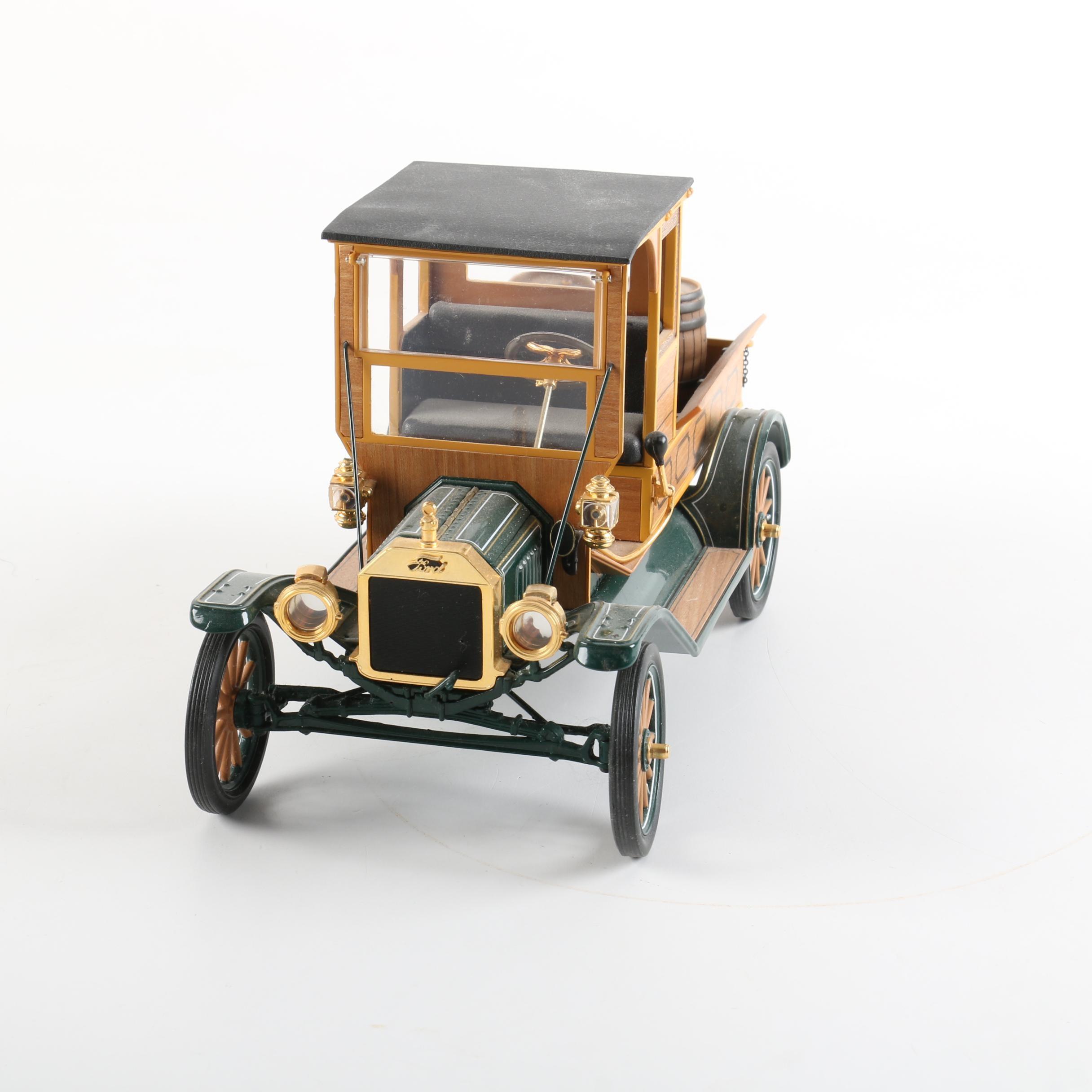 Franklin Mint 1913 Ford Model T Die-Cast Pickup Truck