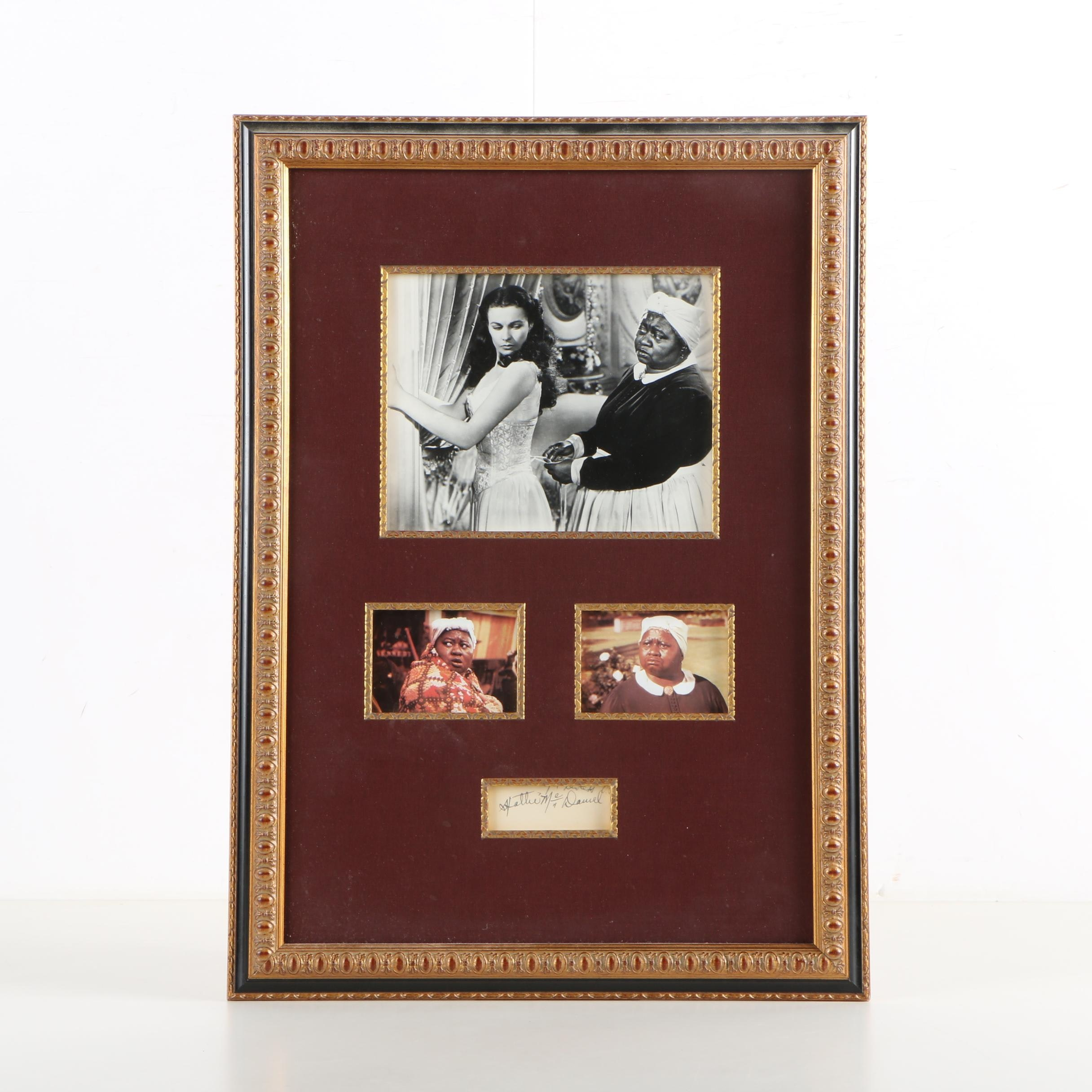 "Hattie McDaniel Autographed ""Gone With the Wind"" Photograph Prints"