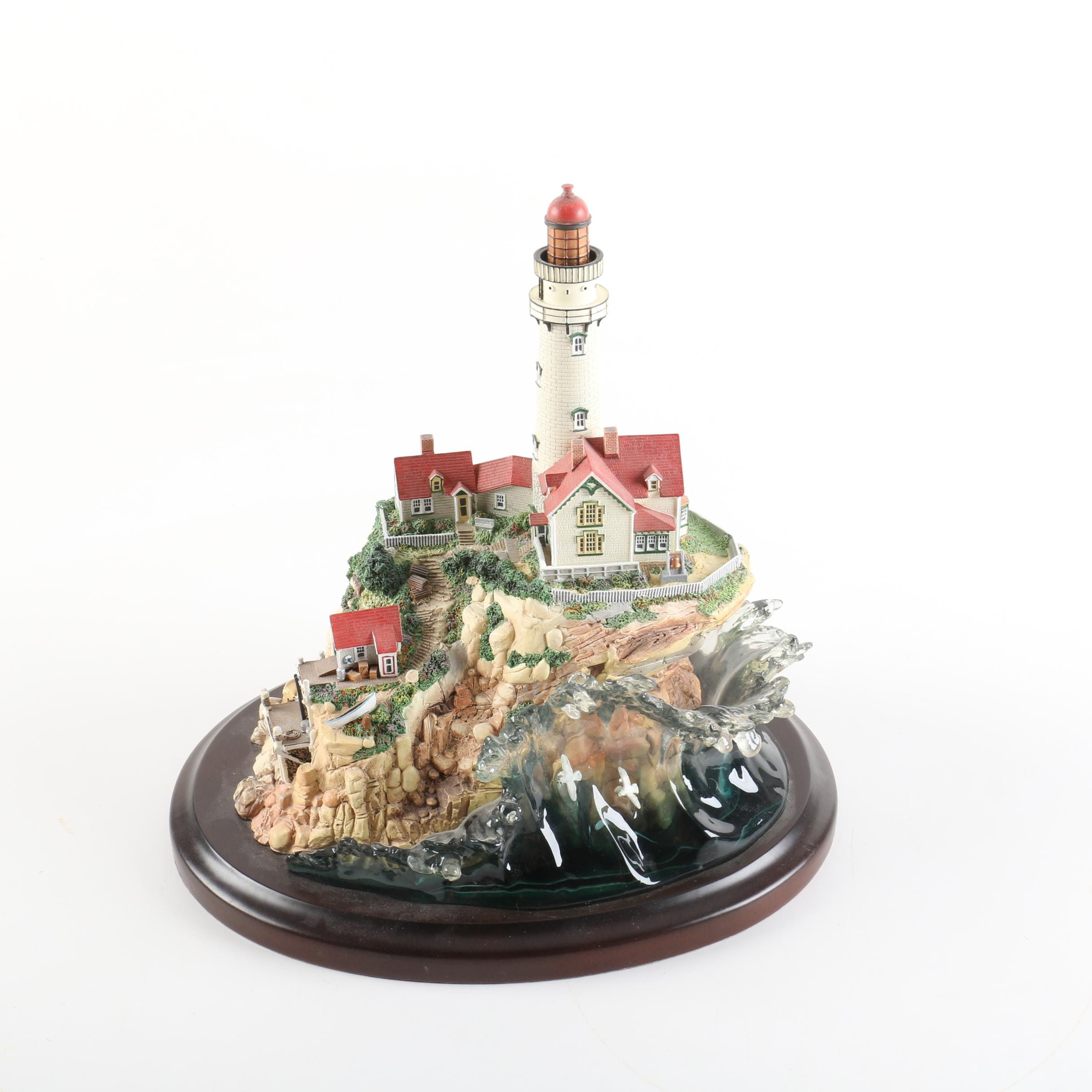 """Lenox """"Light at Land's End"""" Collectible Statuette"""