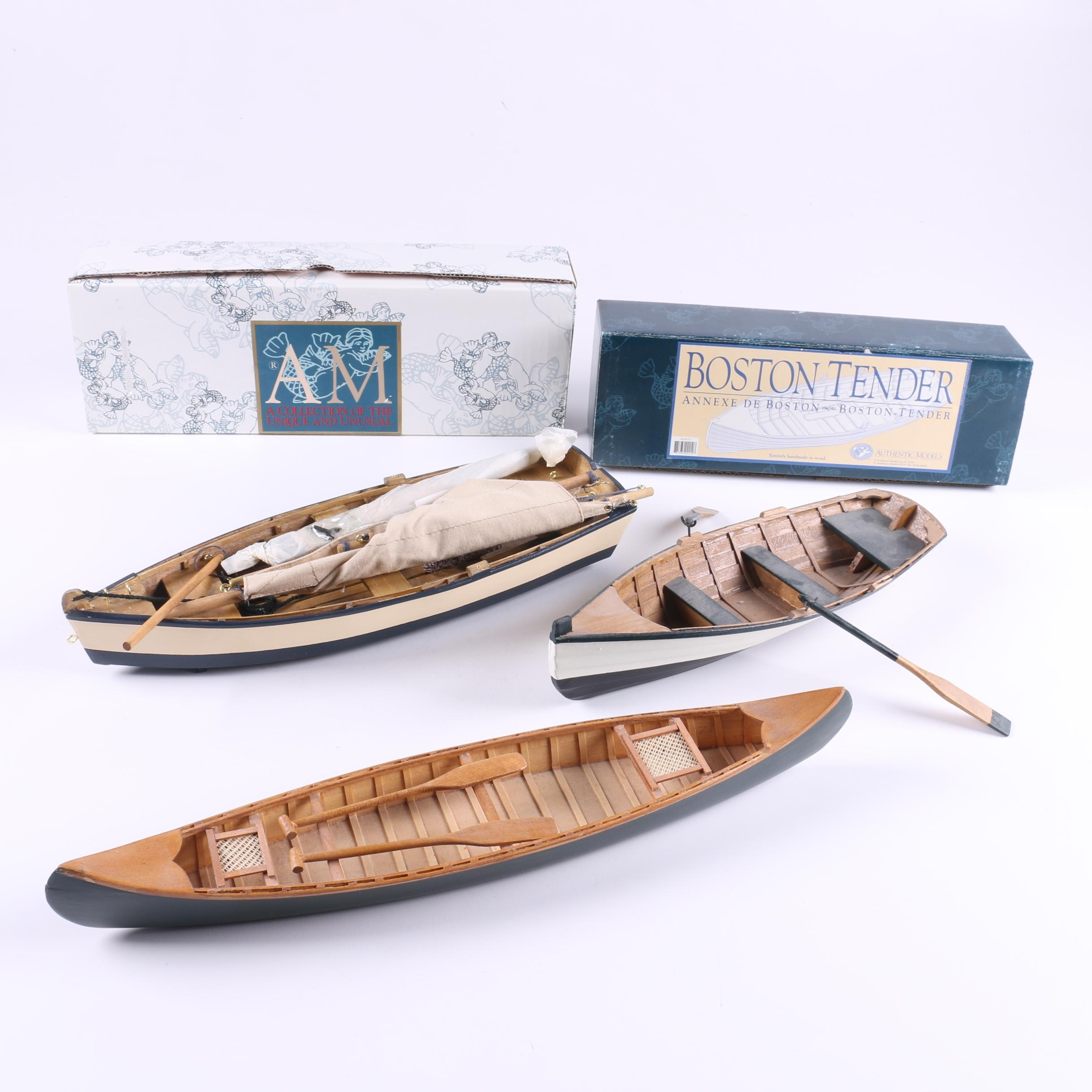 Wooden Model Boats