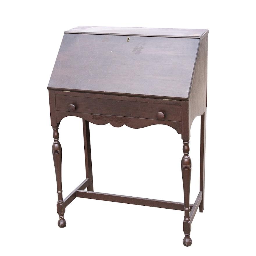 vintage golden product age secretary desk sold