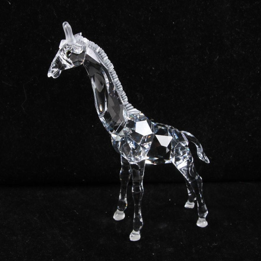 ba80e740a Swarovski Crystal Giraffe Figurine : EBTH