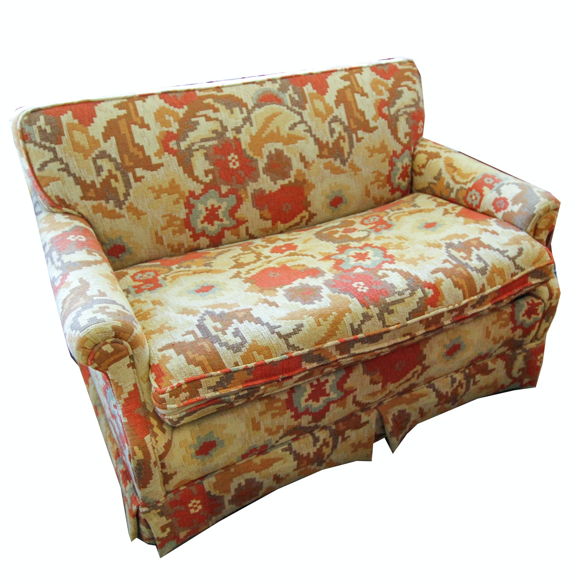 Vintage Love Seat Sleeper