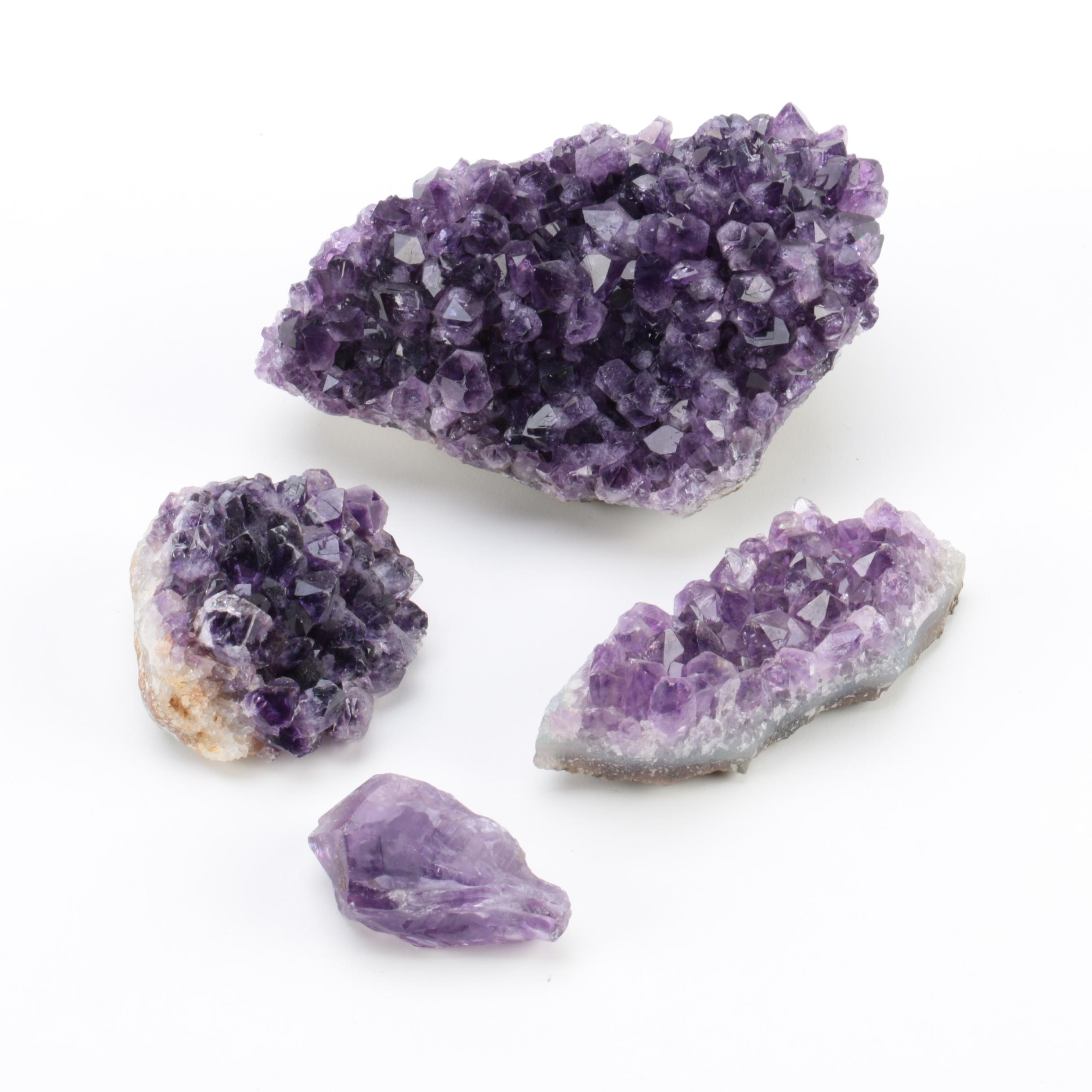 Amethyst Crystal Specimens