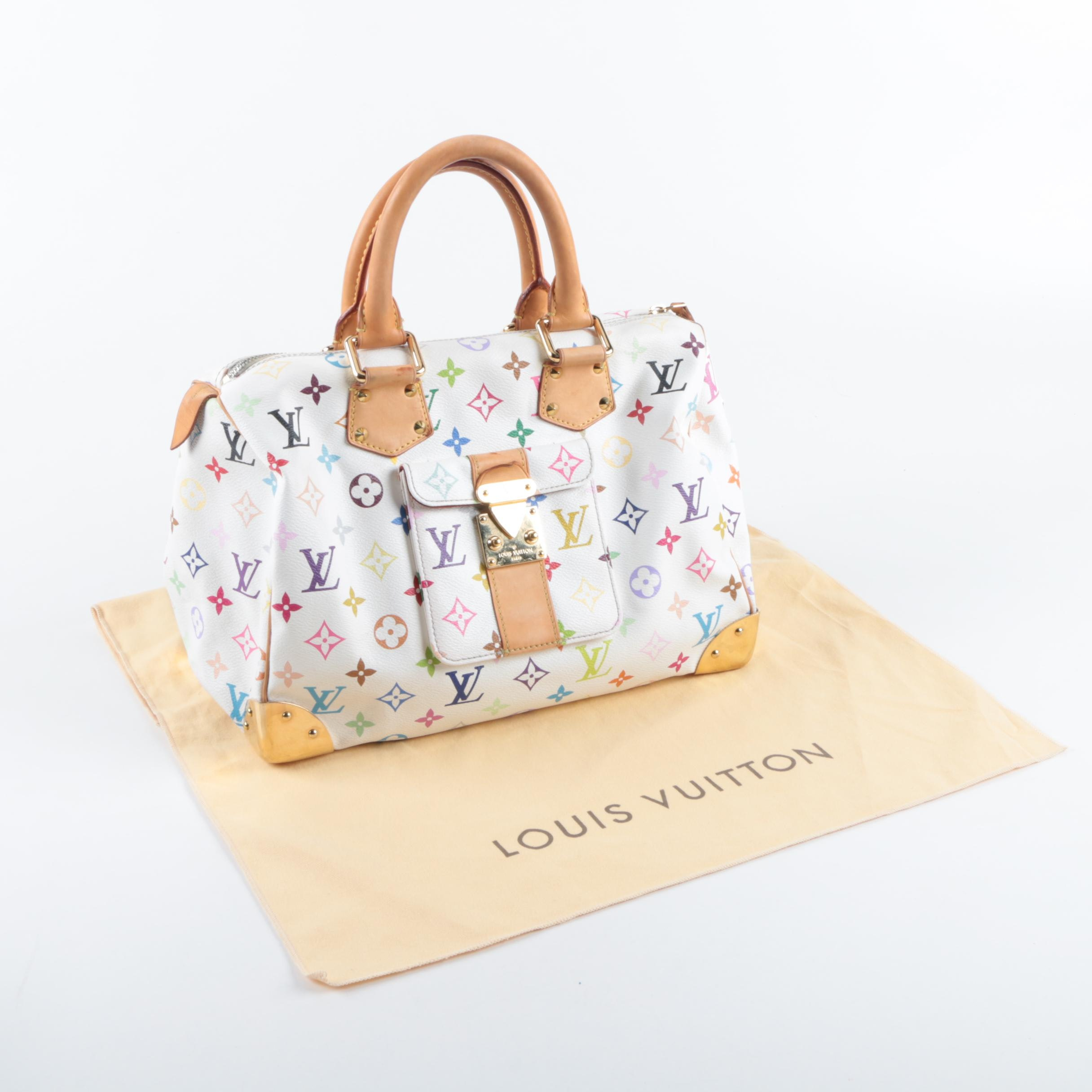 Louis Vuitton Monogram Multicolore Canvas Handbag
