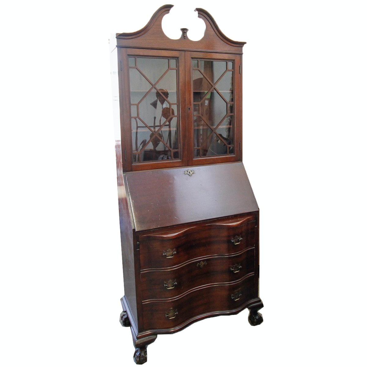 Chippendale Style Secretary's Desk