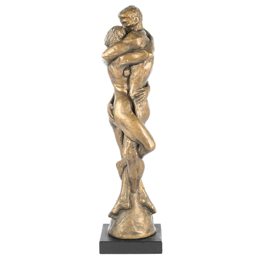 "Vintage Austin Productions ""Body and Soul"" Sculpture After J. Cox"