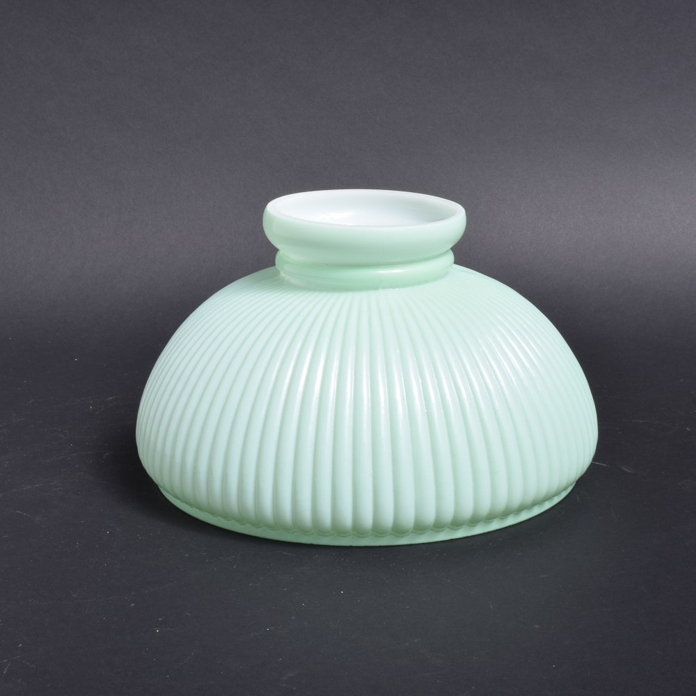 Fluted Glass Lamp Shade
